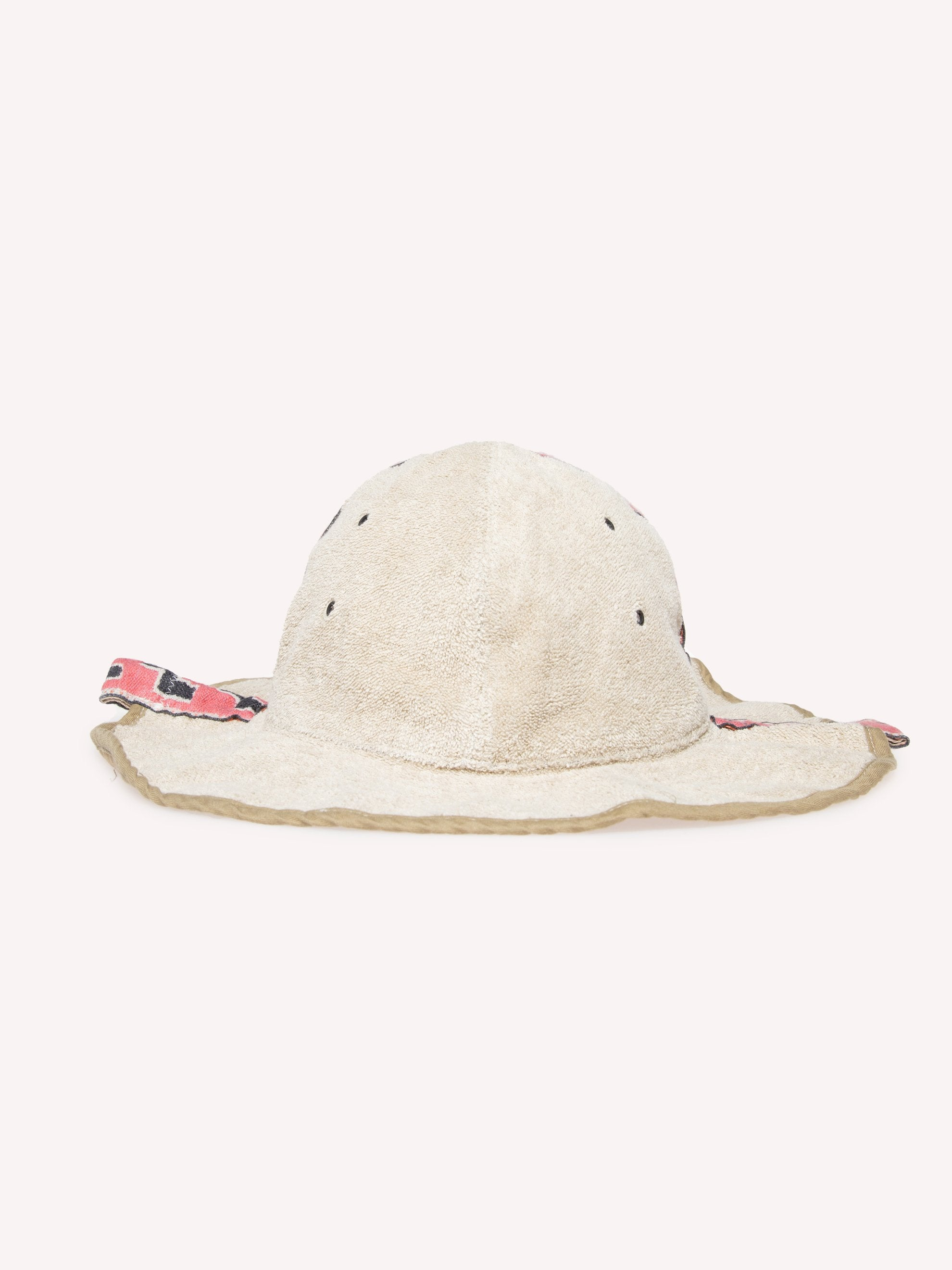 Red Irago Pile Radio Tulip Hat 1