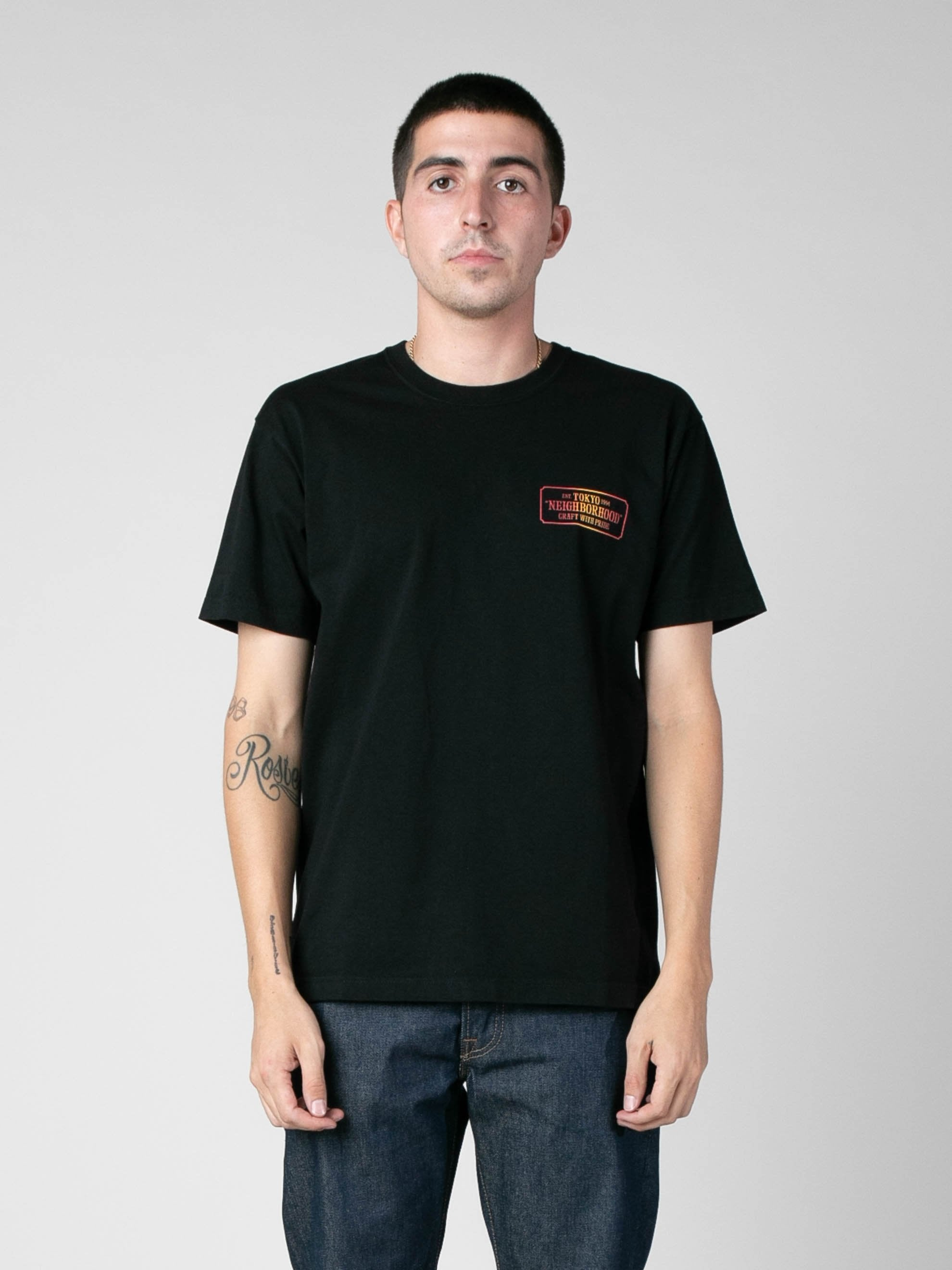 Black Bar & Shield-G / C-Tee 2
