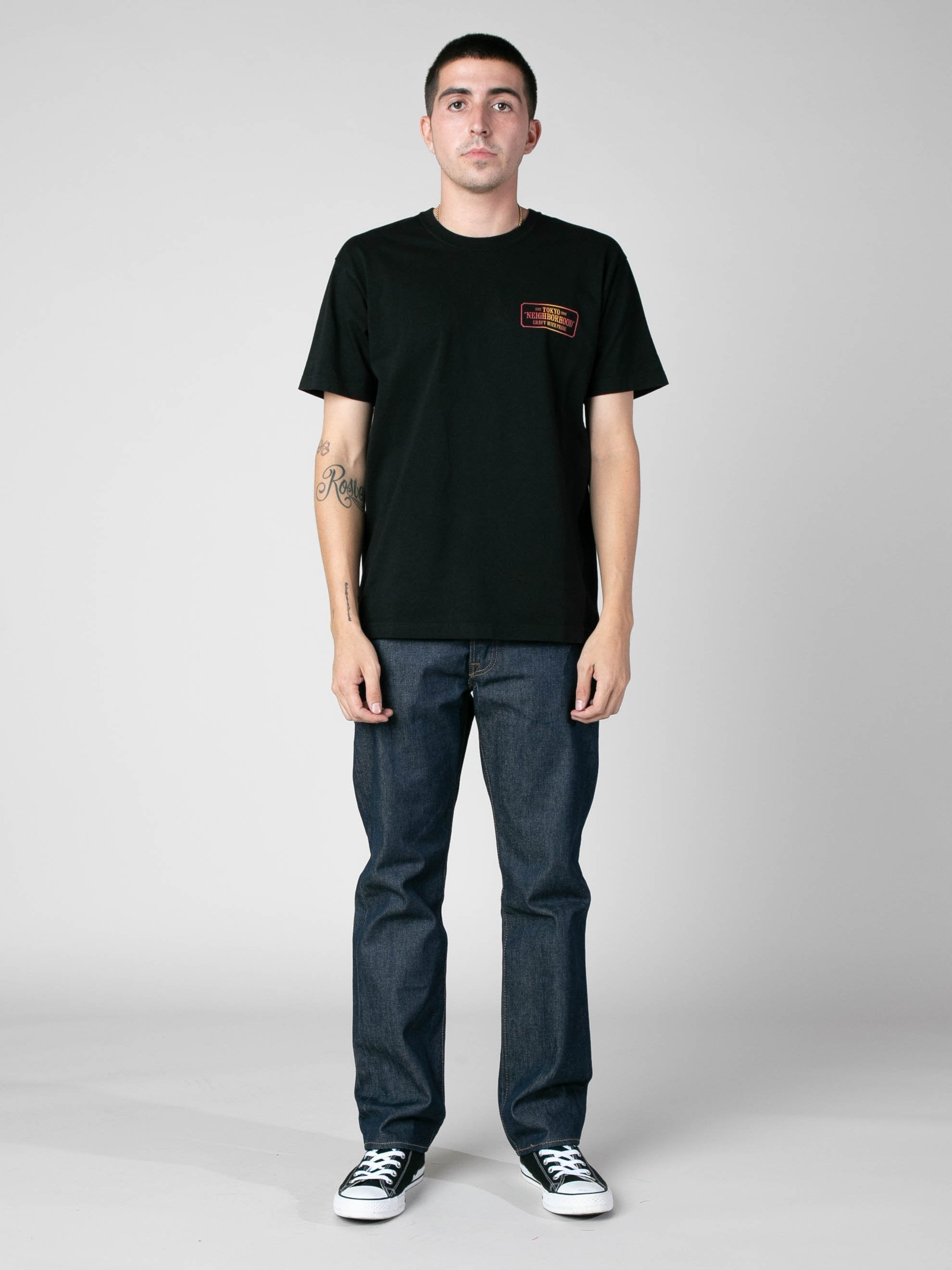 Black Bar & Shield-G / C-Tee 3