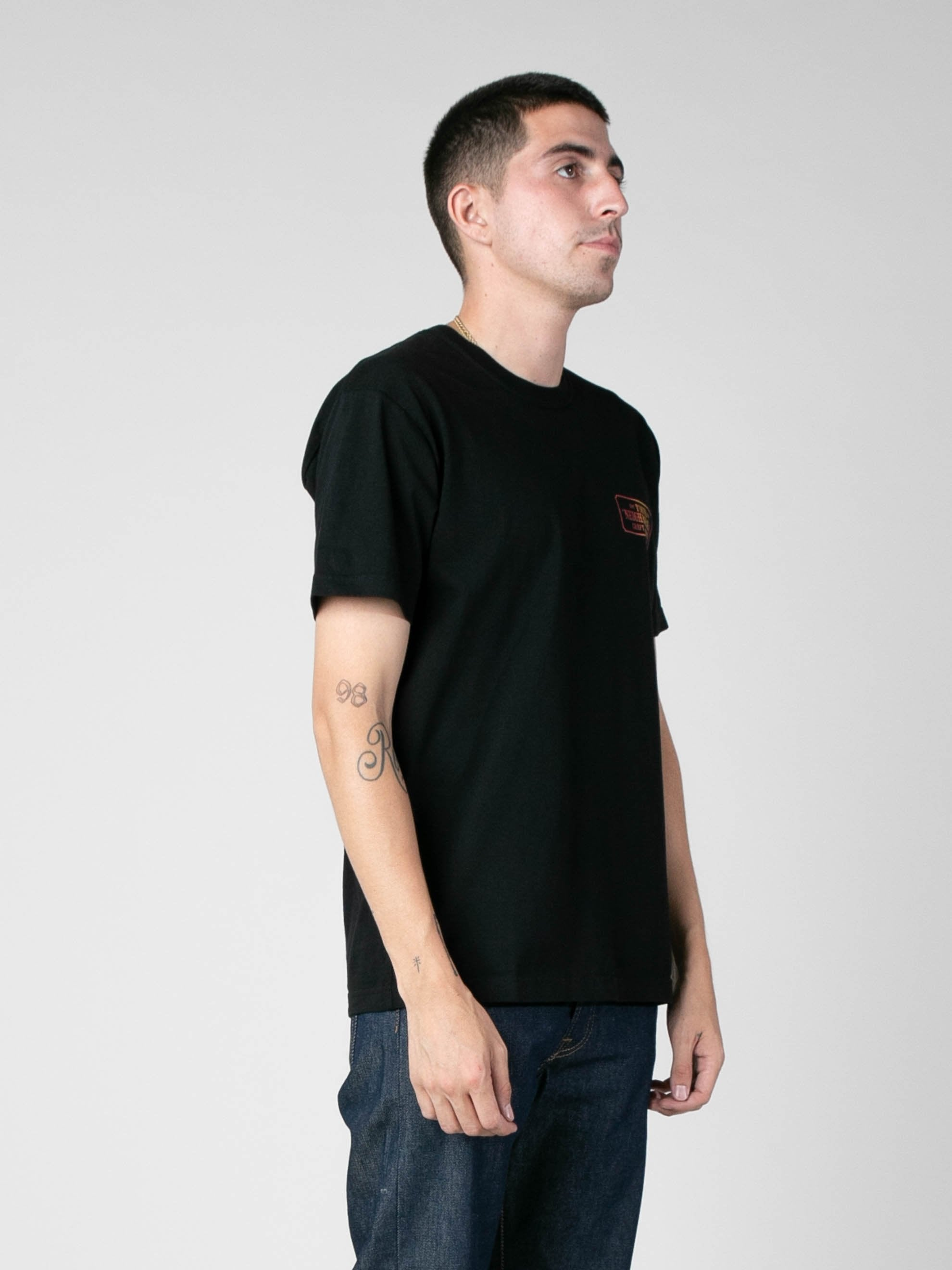 Black Bar & Shield-G / C-Tee 4