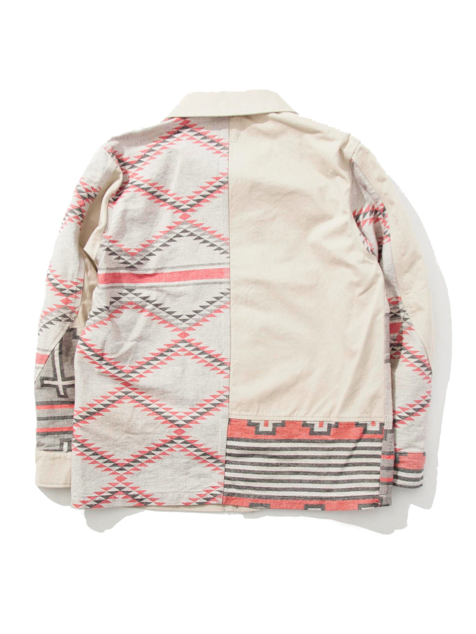 Beige JQ Railroad Jacket 5