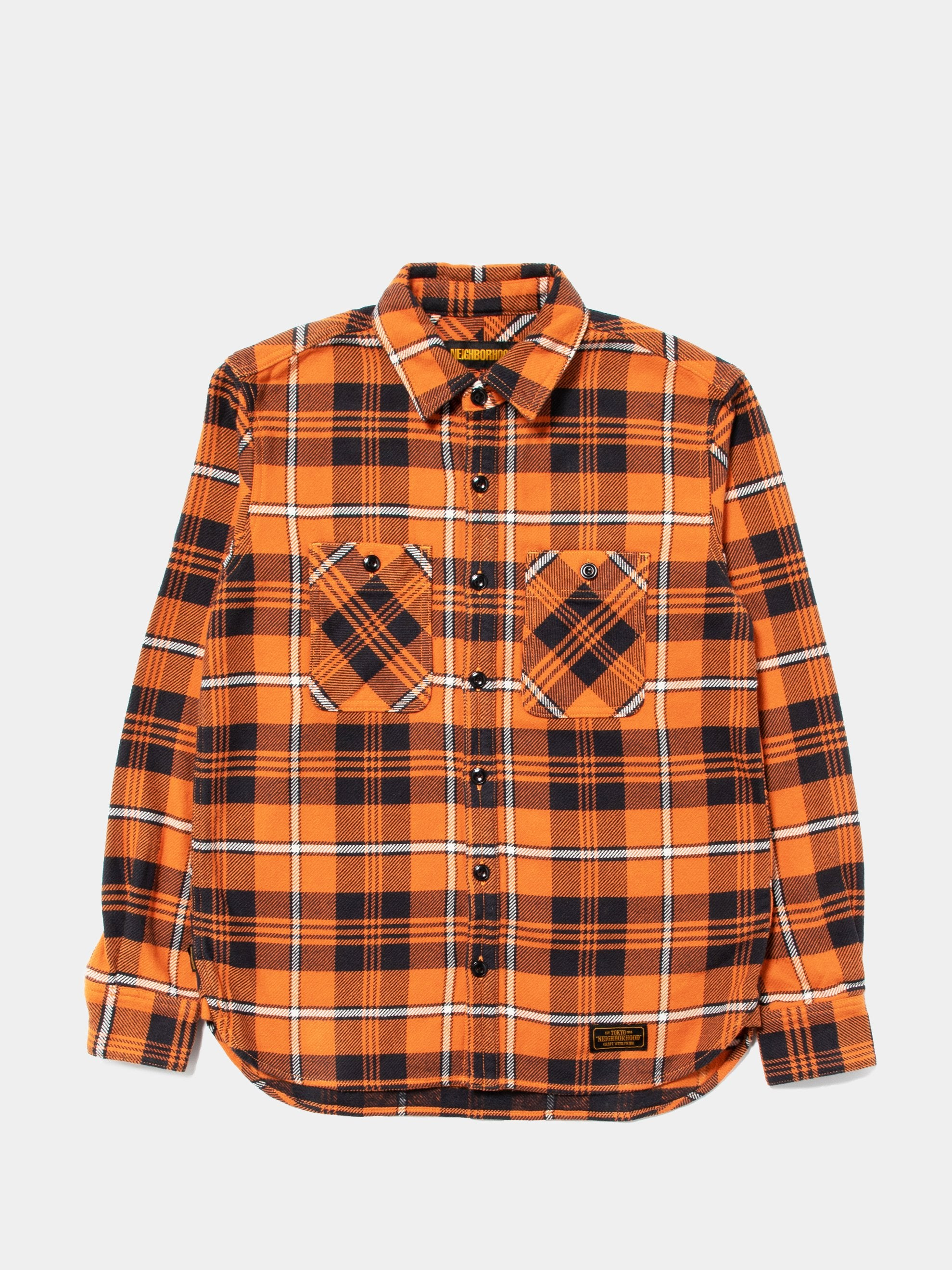Orange Lumbers / C-Shirt . LS 1