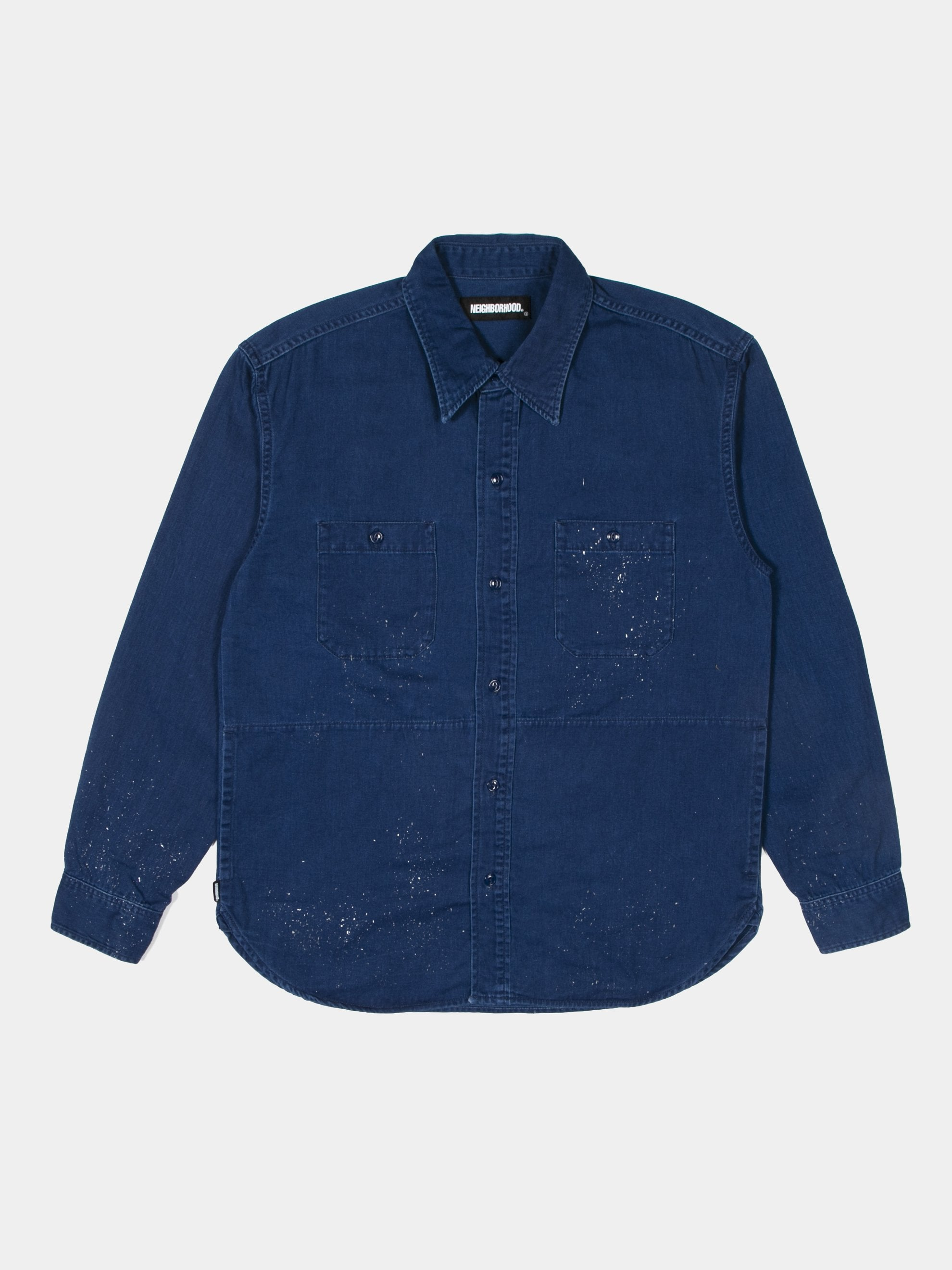 Indigo Work / C-Shirt LS