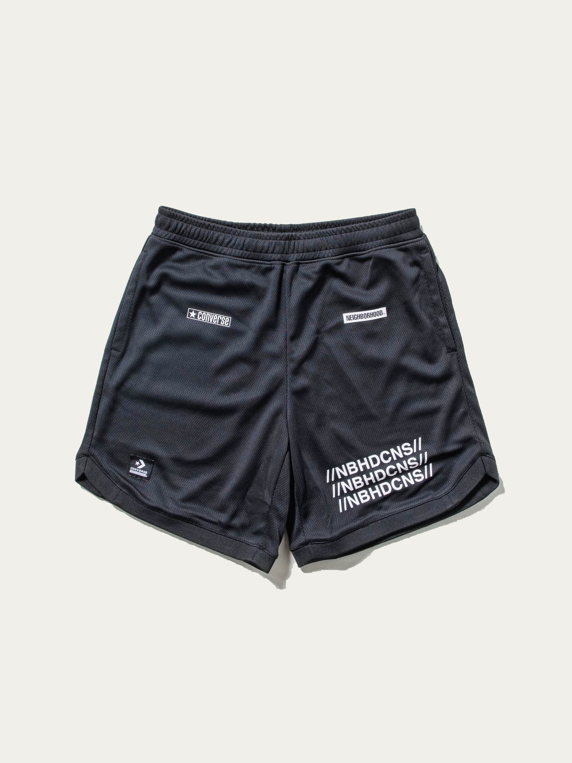 Black Converse x Neighborhood Mesh Short 1