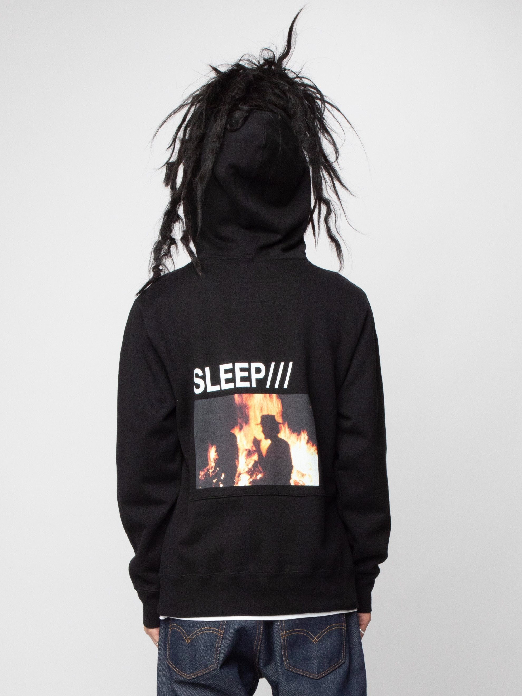 Black NHON . Submit / C-Hooded . LS 6
