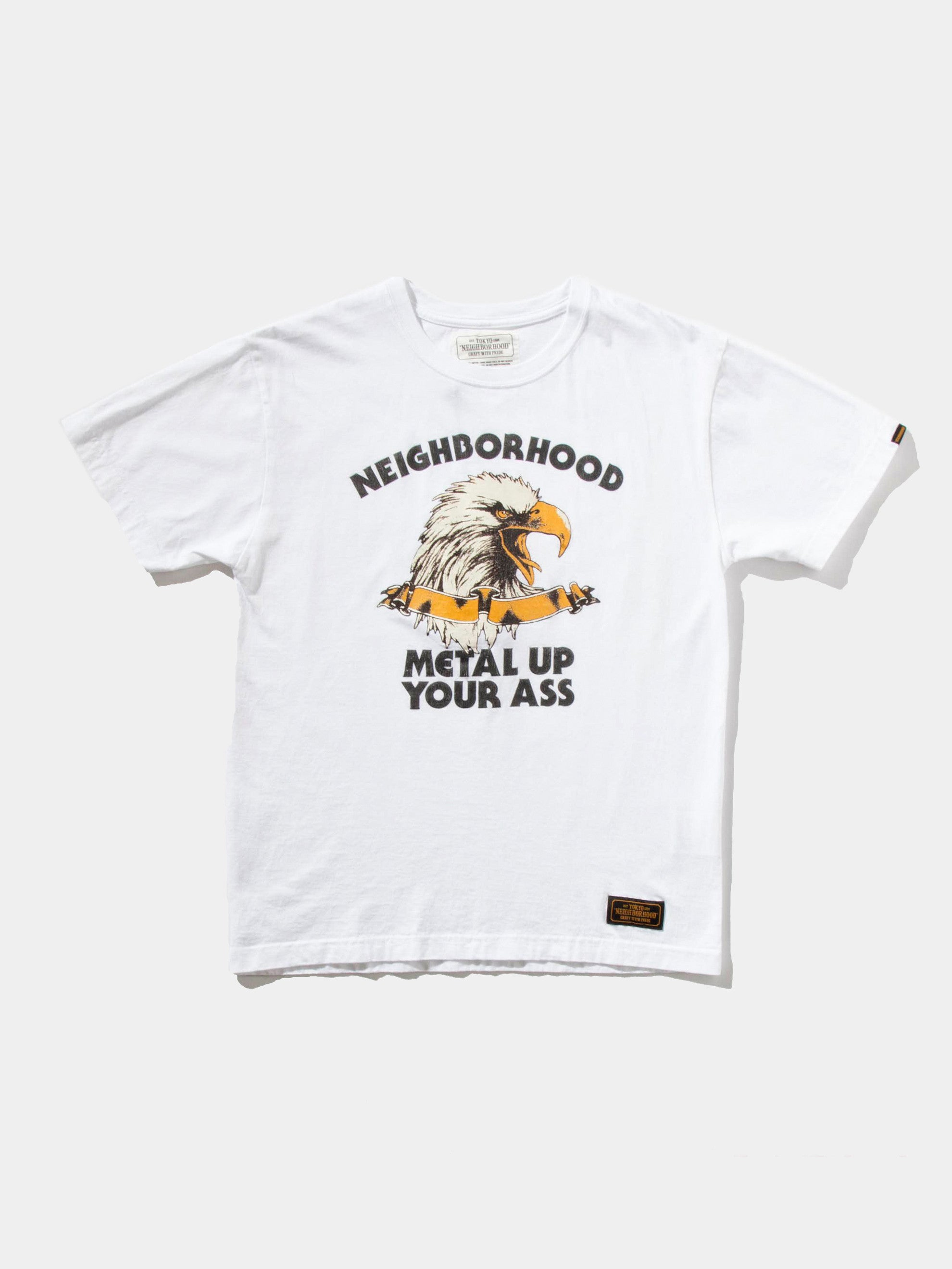 White Metal Up T-Shirt 6