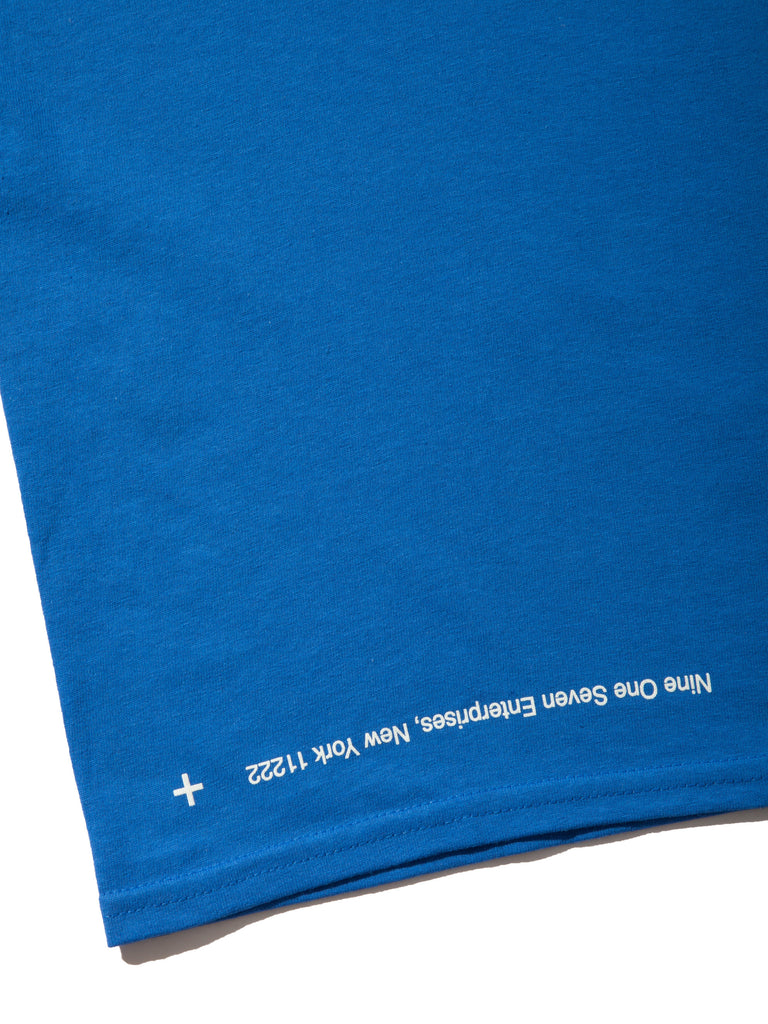 Blue Coffee Long Sleeve T-Shirt 920014384009