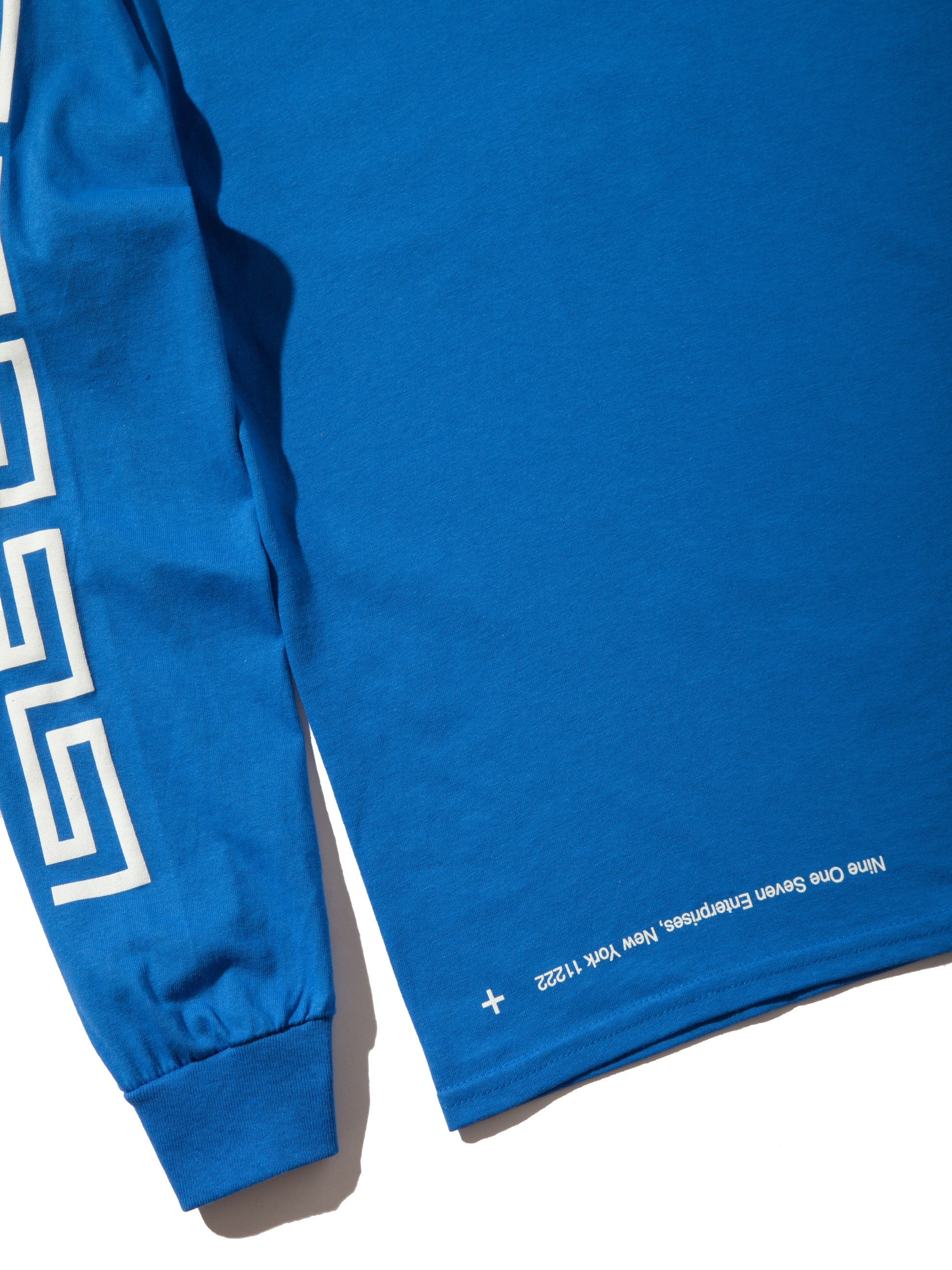 Blue Coffee Long Sleeve T-Shirt 8