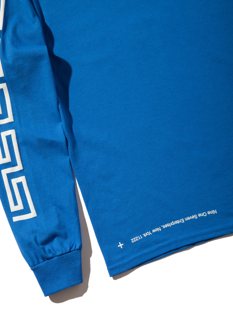 Blue Coffee Long Sleeve T-Shirt 820014387145