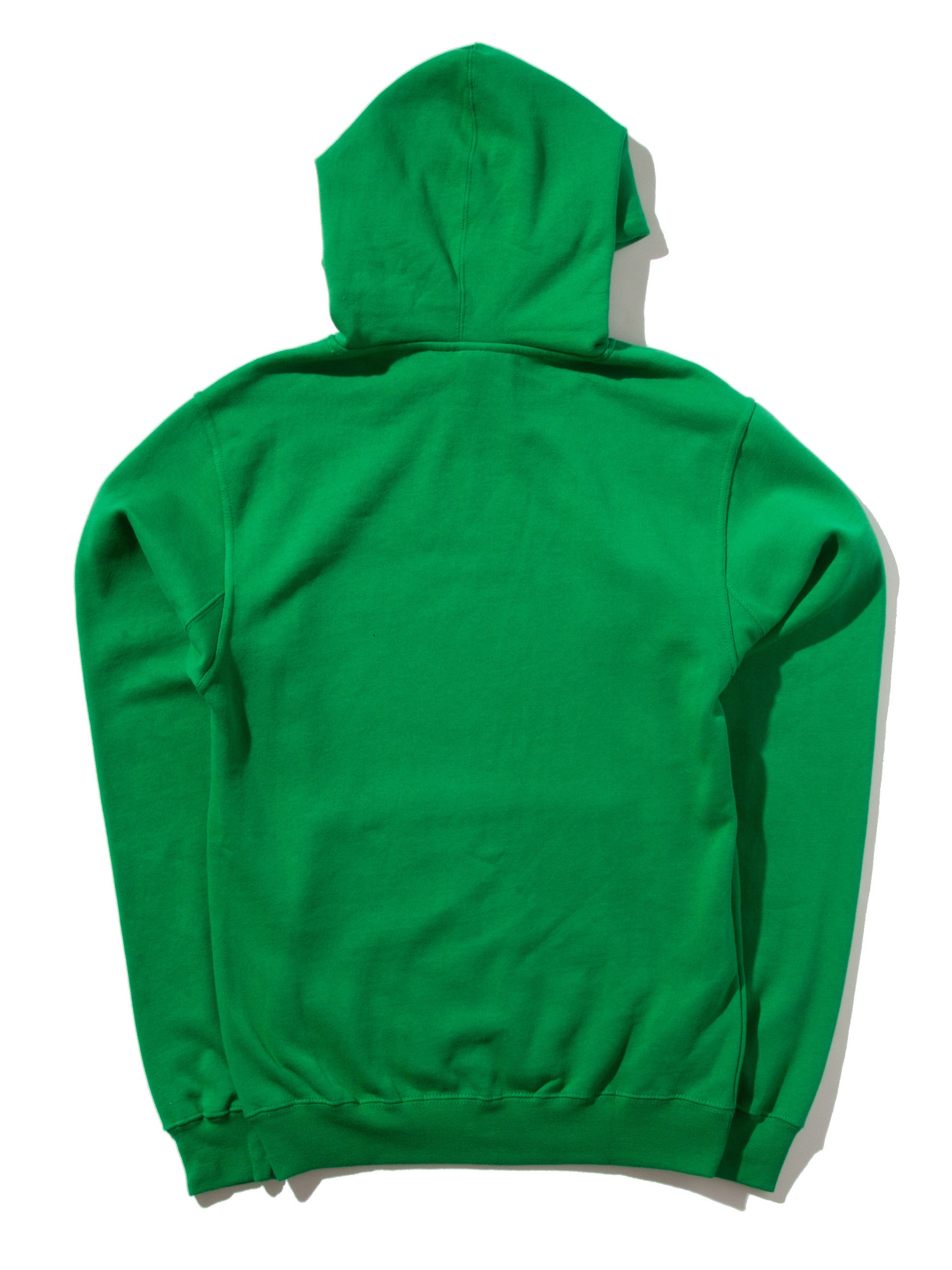 Green Meet Meat Pullover Hooded Sweatshirt 5