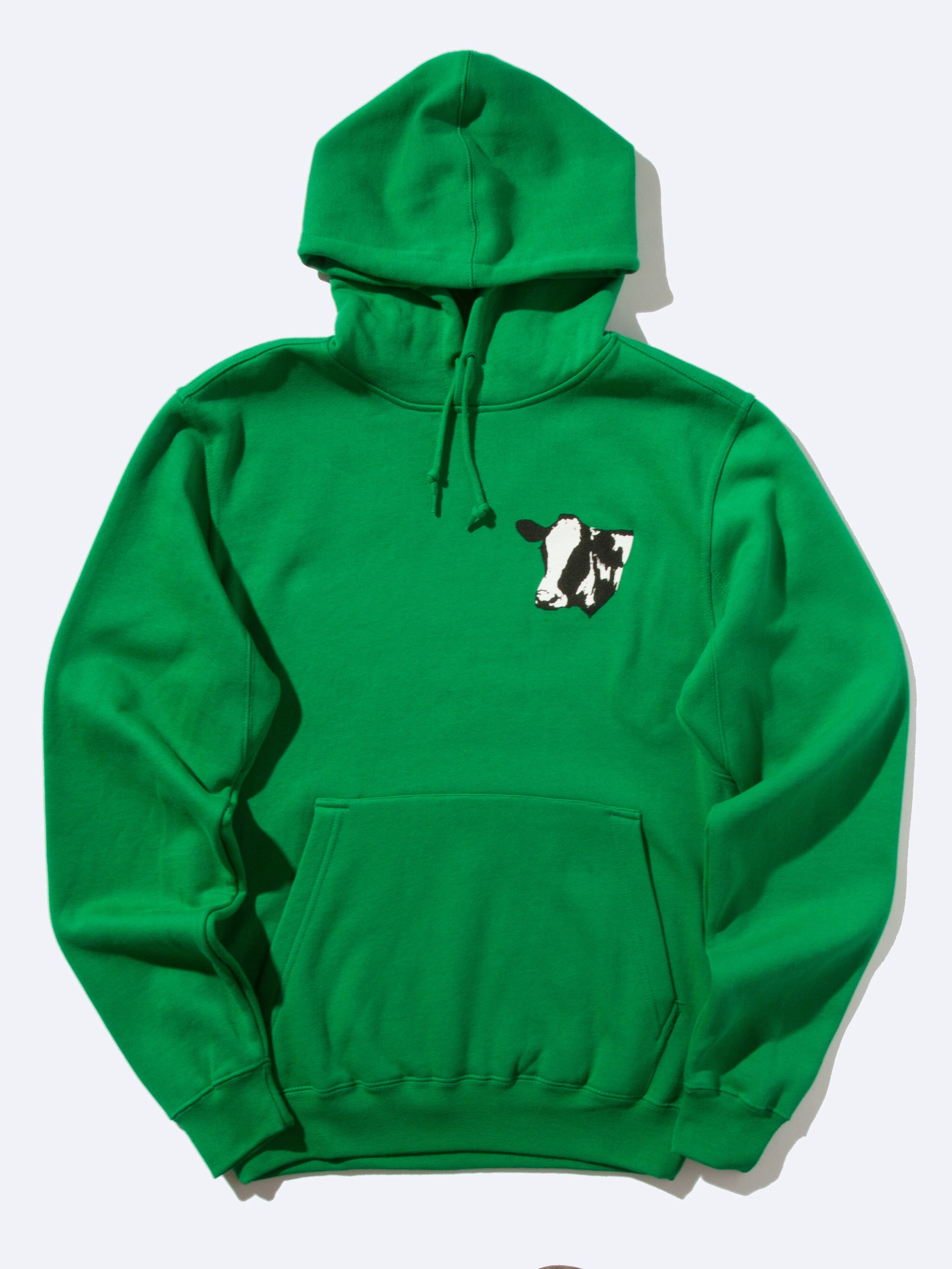 Green Meet Meat Pullover Hooded Sweatshirt 1