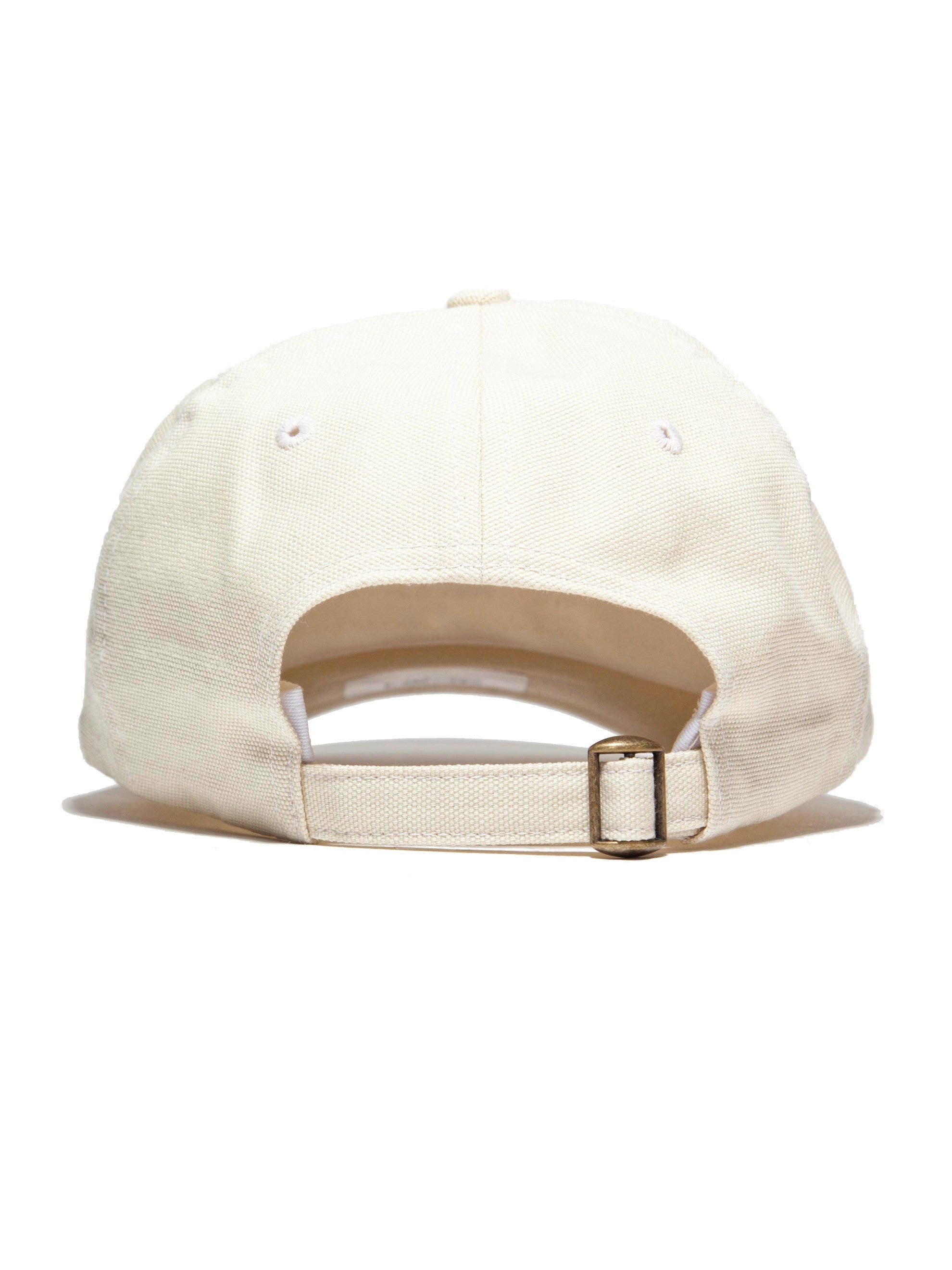 Yellow Canvas Core Logo Cap 4