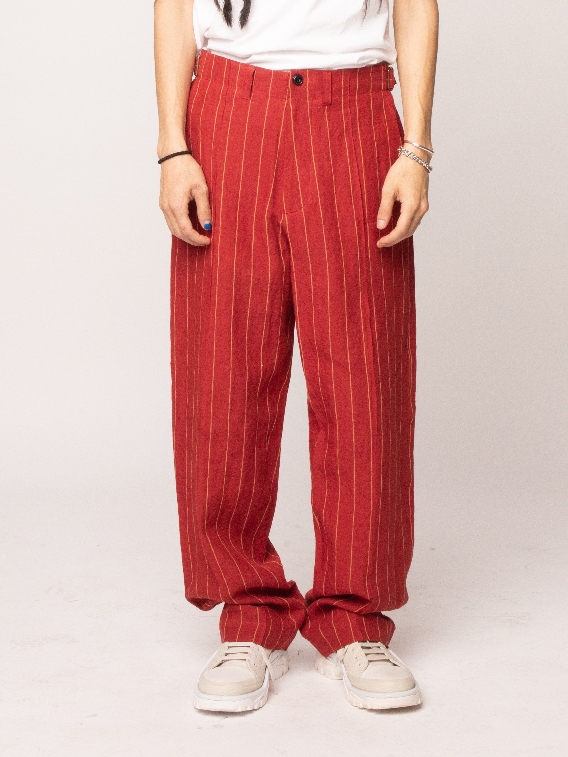 Red 70's Trouser 2