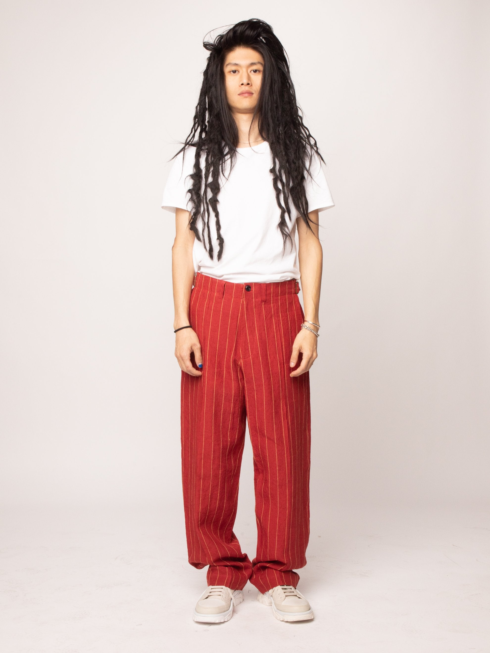 Red 70's Trouser 3