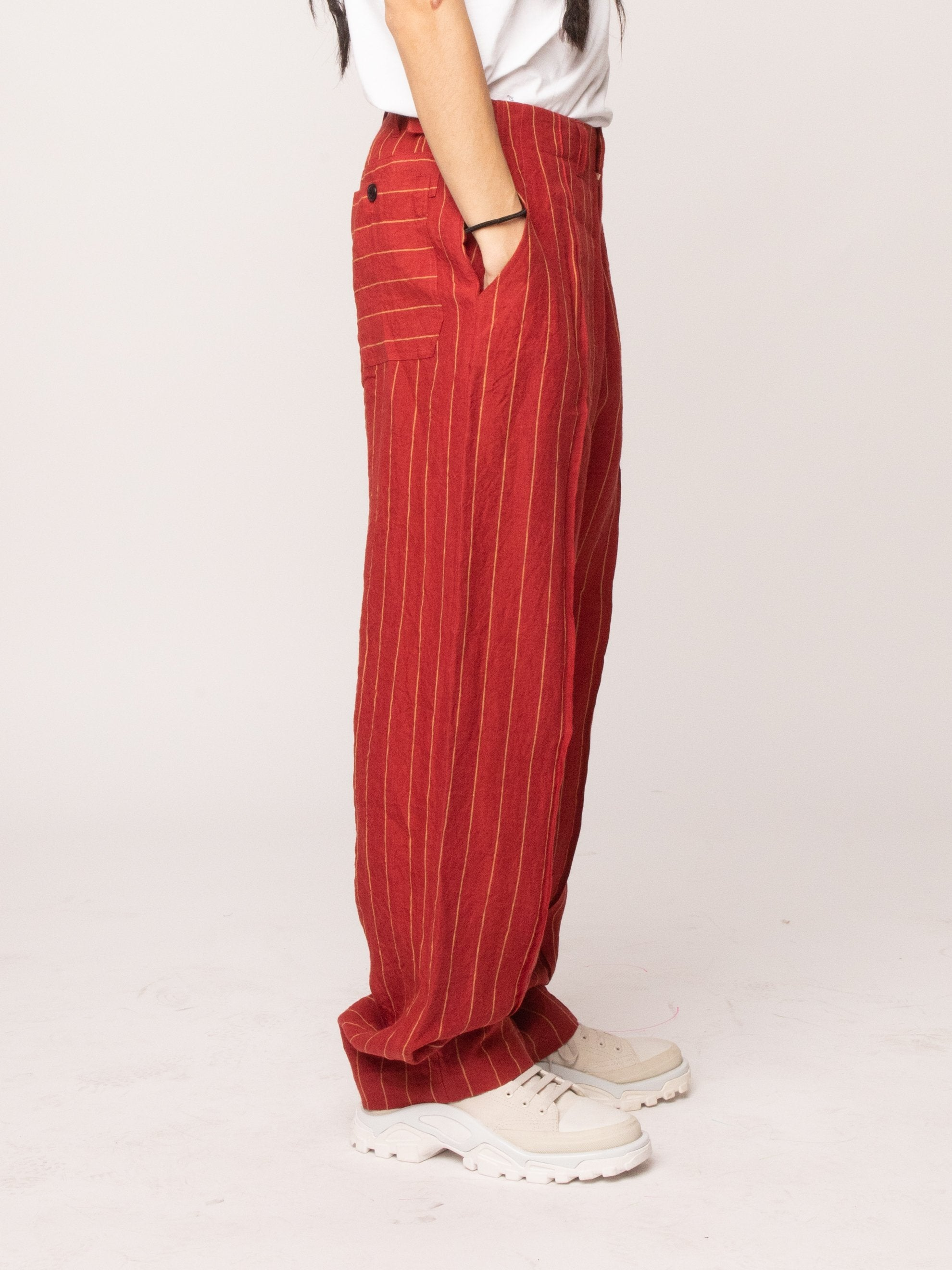 Red 70's Trouser 4