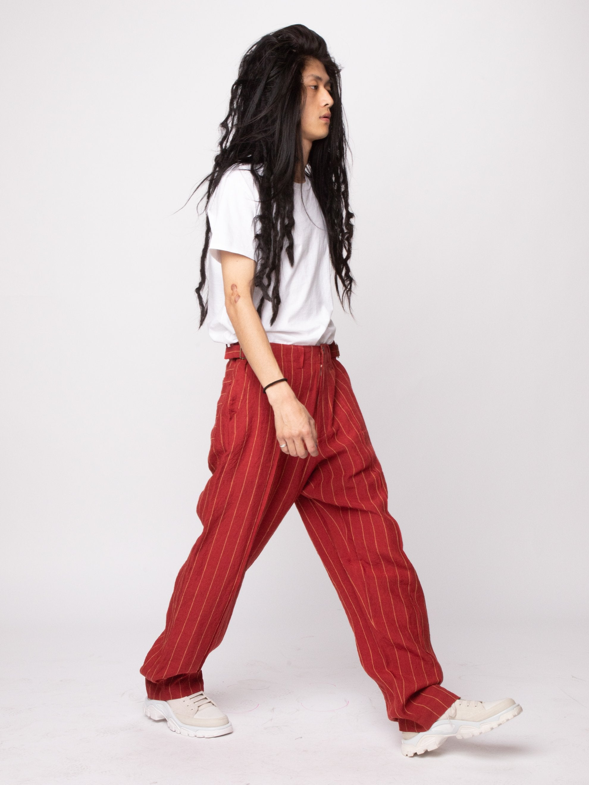 Red 70's Trouser 6
