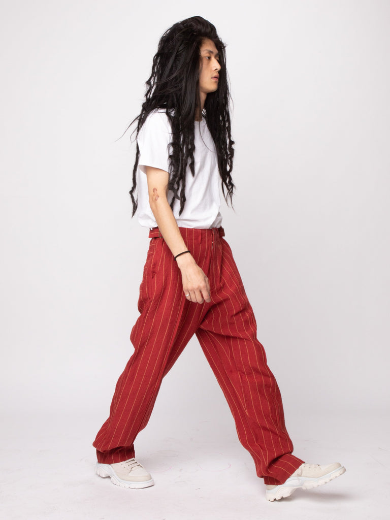 Red 70's Trouser 614286809235533