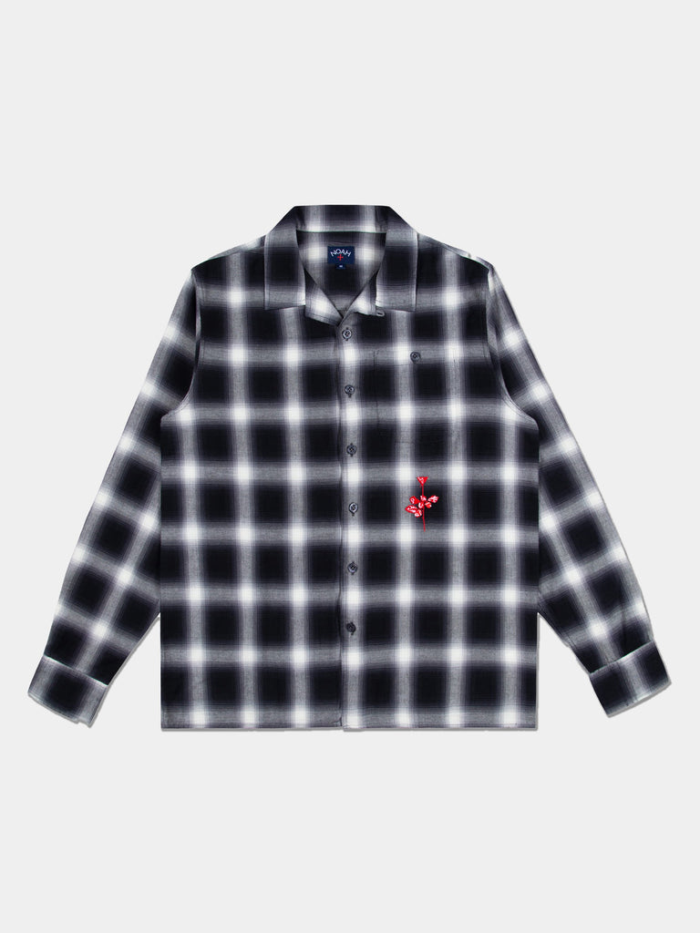 Violator Rose Shadow Plaid Fanel Shirt
