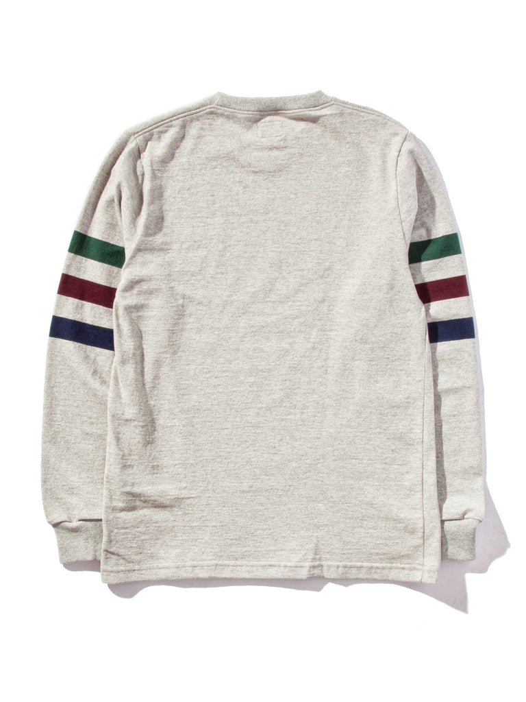 Ash Triple Stripe Long Sleeve T-Shirt 620818375177