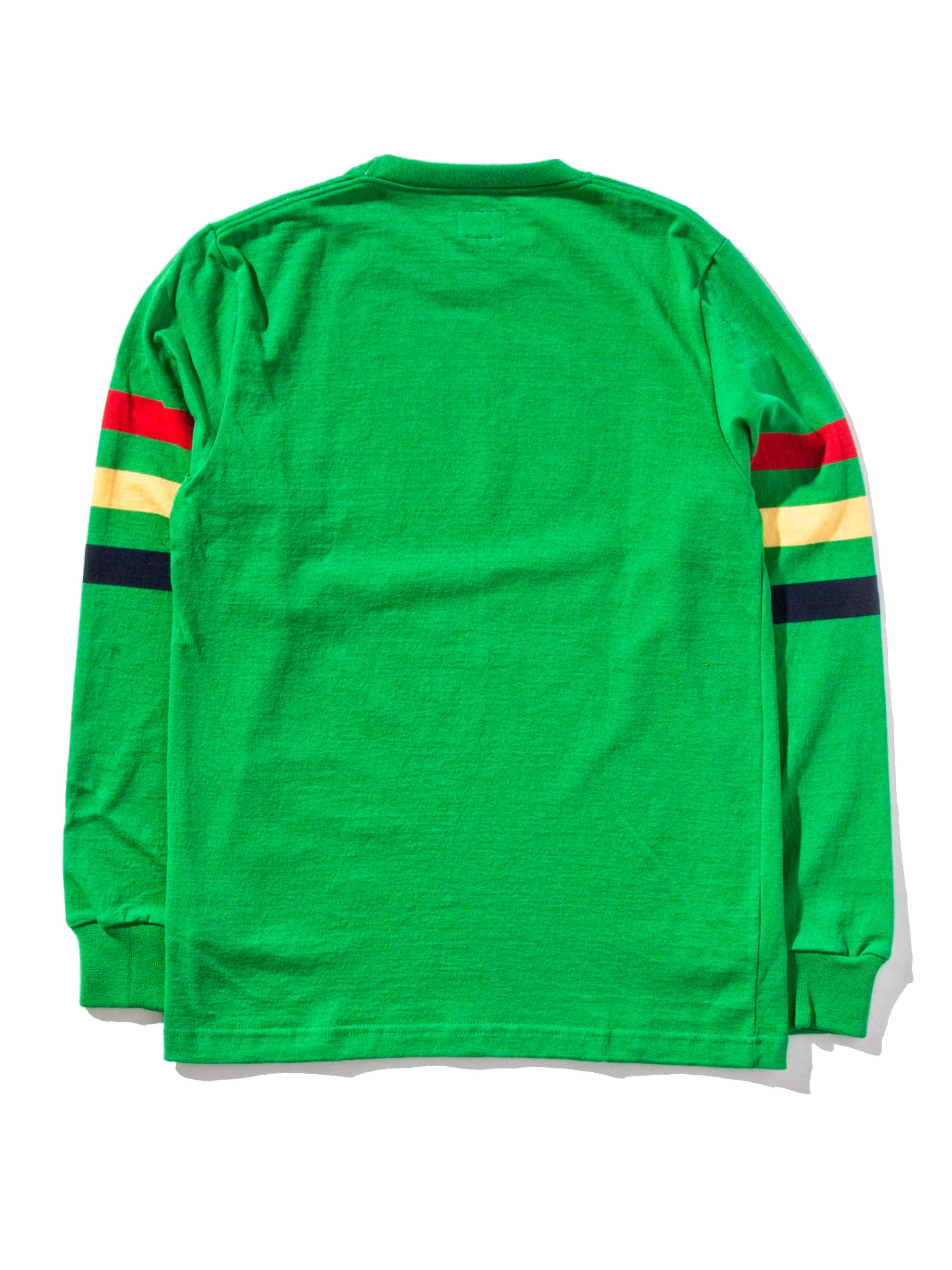 Ash Triple Stripe Long Sleeve T-Shirt 11