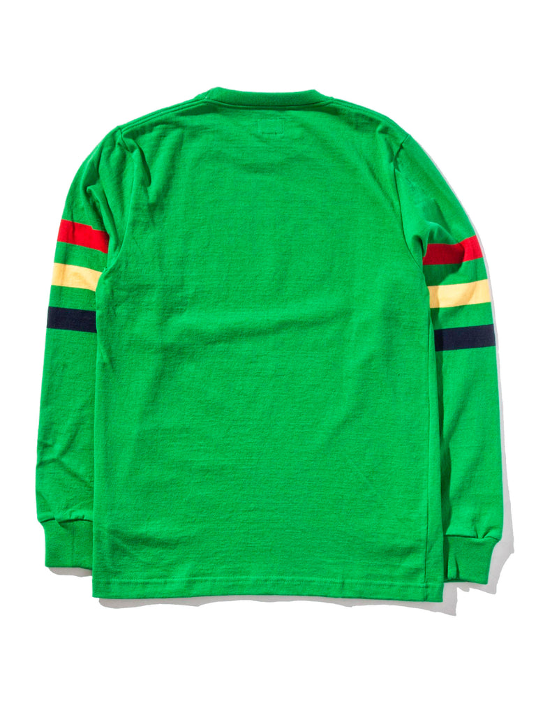 Ash Triple Stripe Long Sleeve T-Shirt 1120818365001