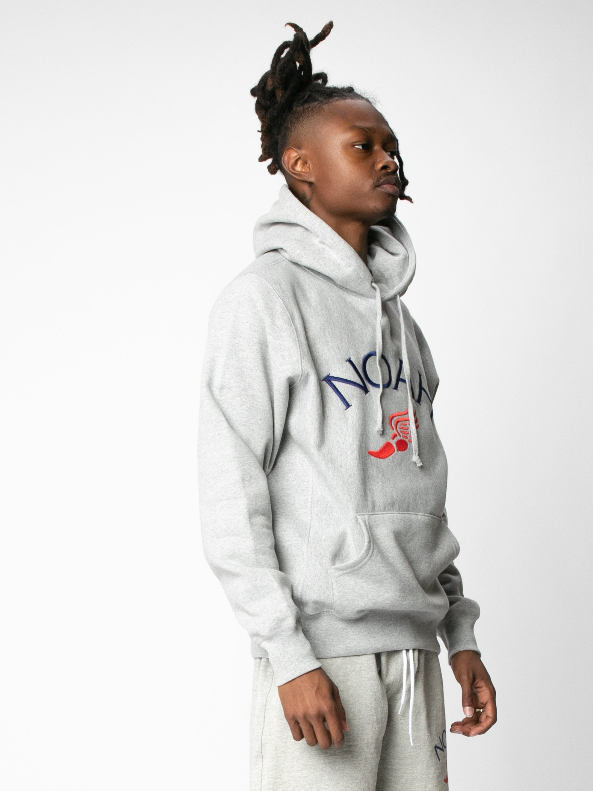 Winged Foot Embroidered Hoodie