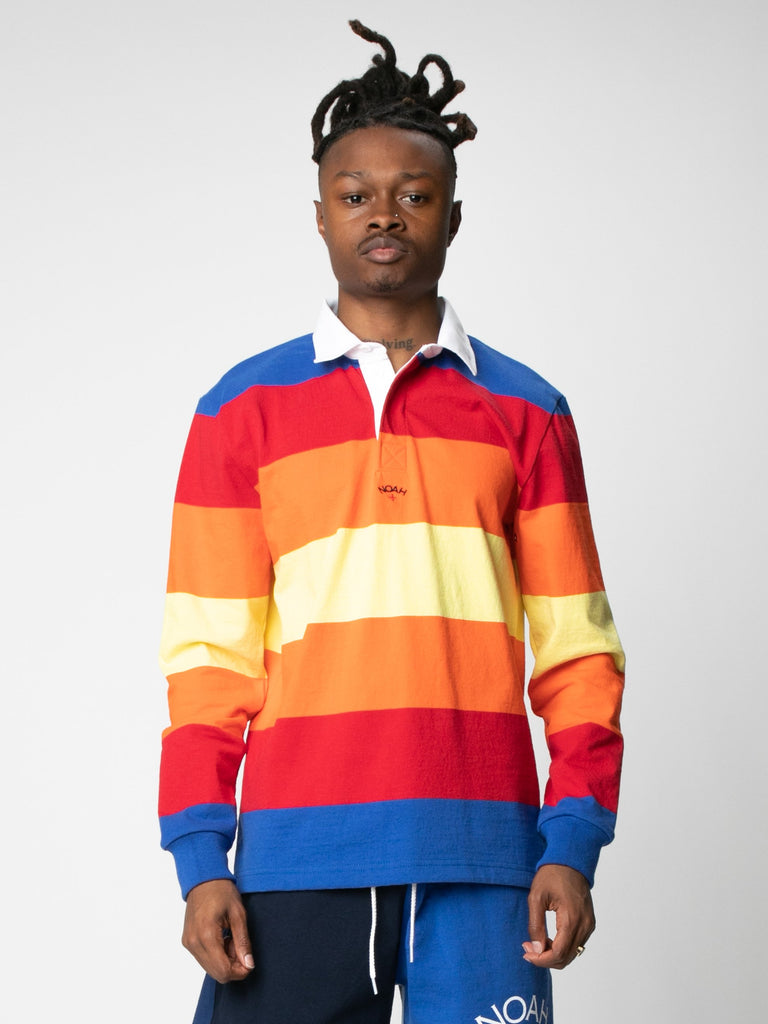 Multi-Color Striped Rugby14380572573773