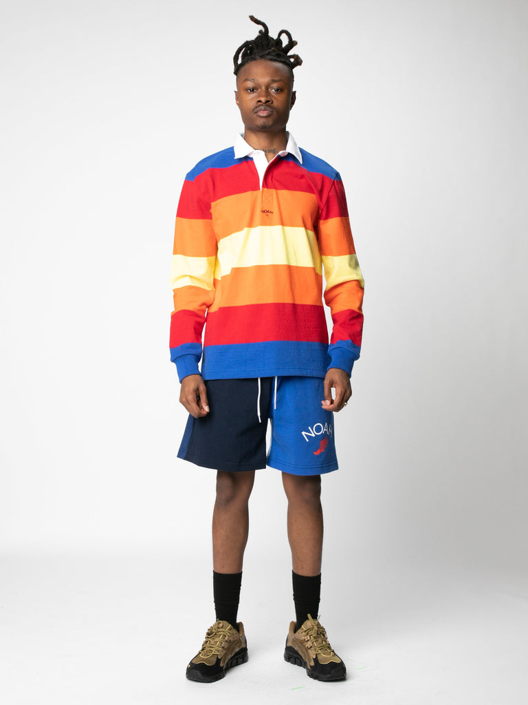 Multi-Color Striped Rugby14380572541005