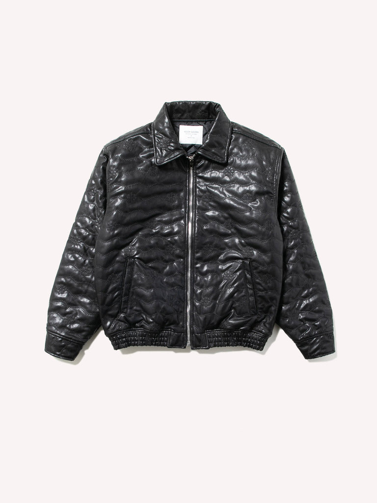 Blossom Leather Jacket
