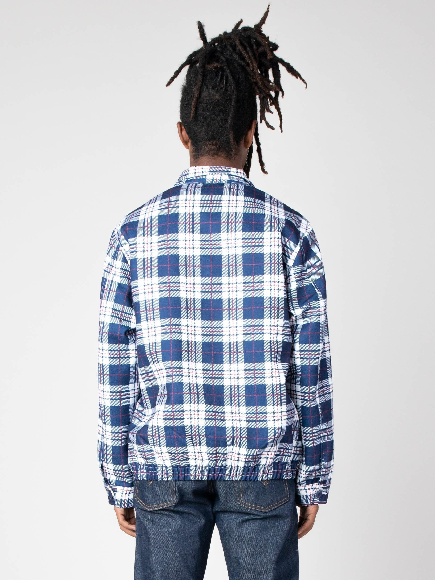 Navy/White Picture Perfect Tartan Jacket 6