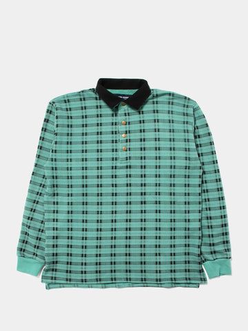 Shadow Plaid Pullover