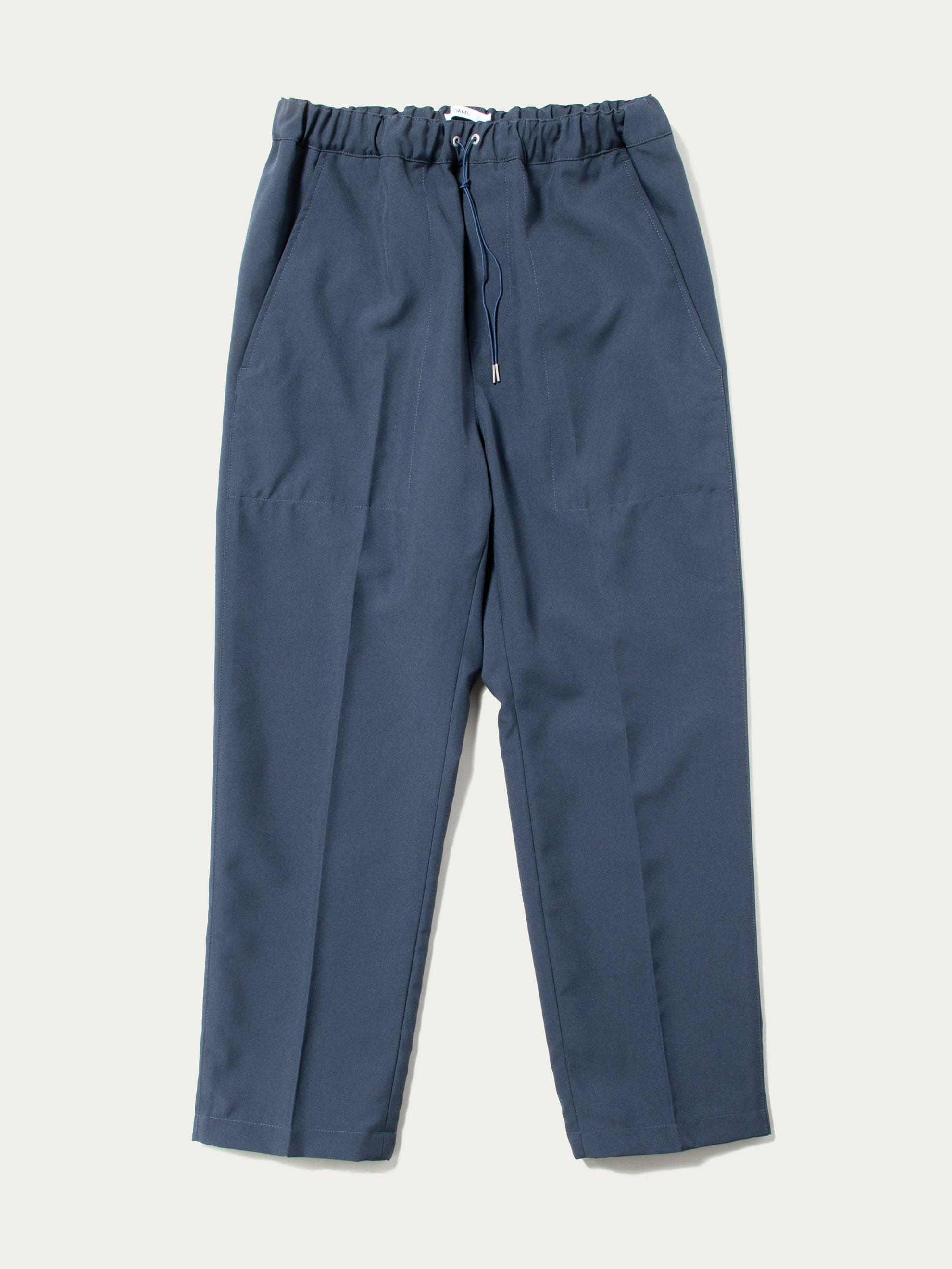 Dark Blue Drawcord Poly Pant 1