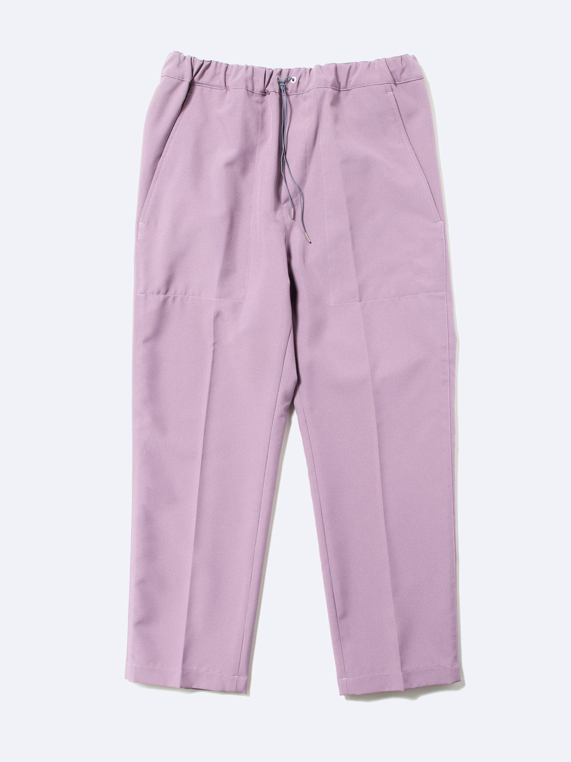 Light/Pastel Red Drawcord Poly Pant 1