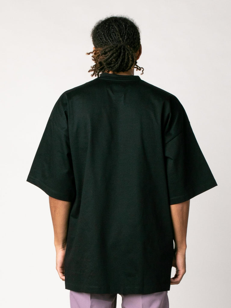 Black Blument Oversized Jersey Knit T-Shirt 313570193752141