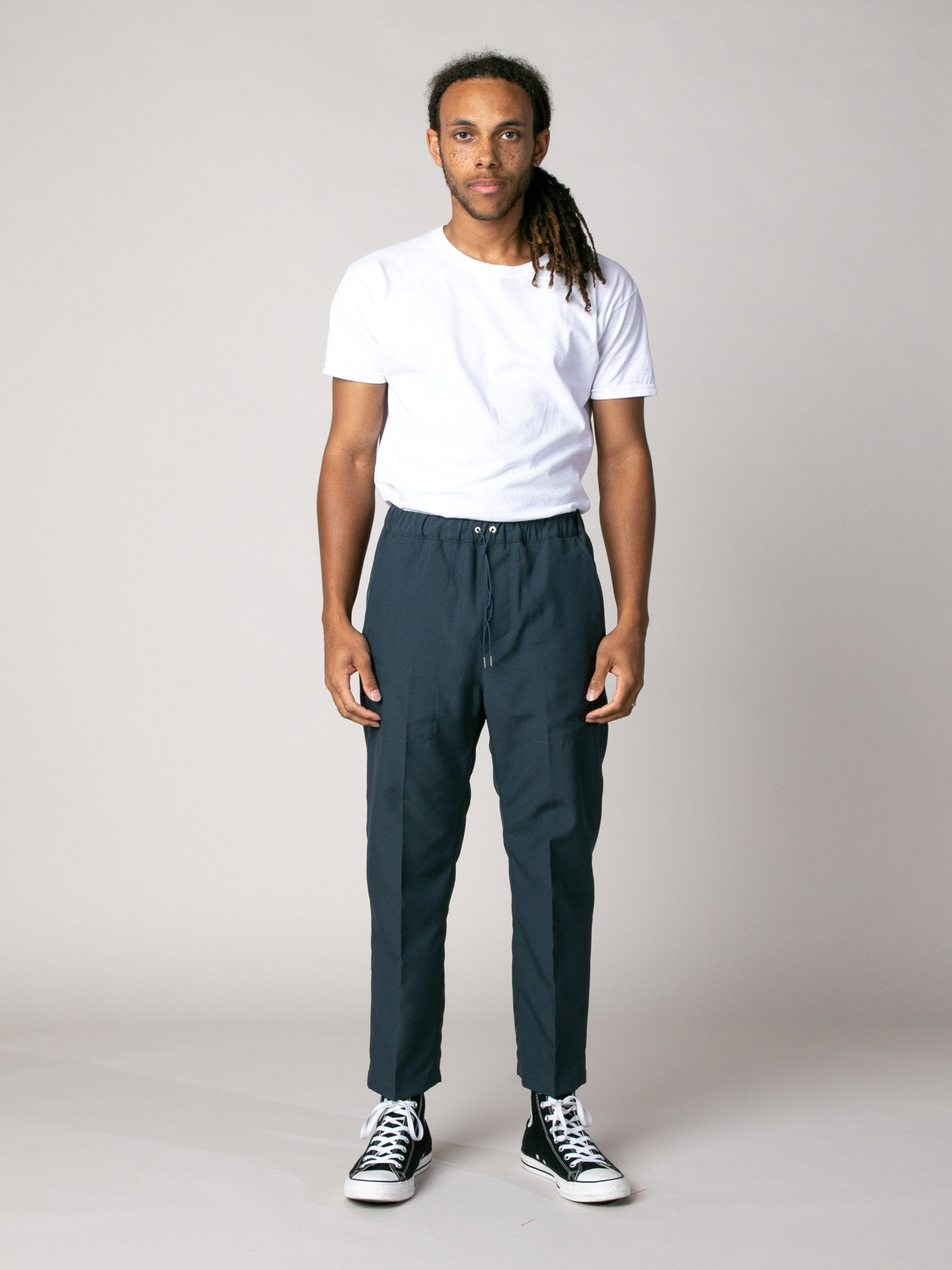 Dark Blue Shift Pant 3
