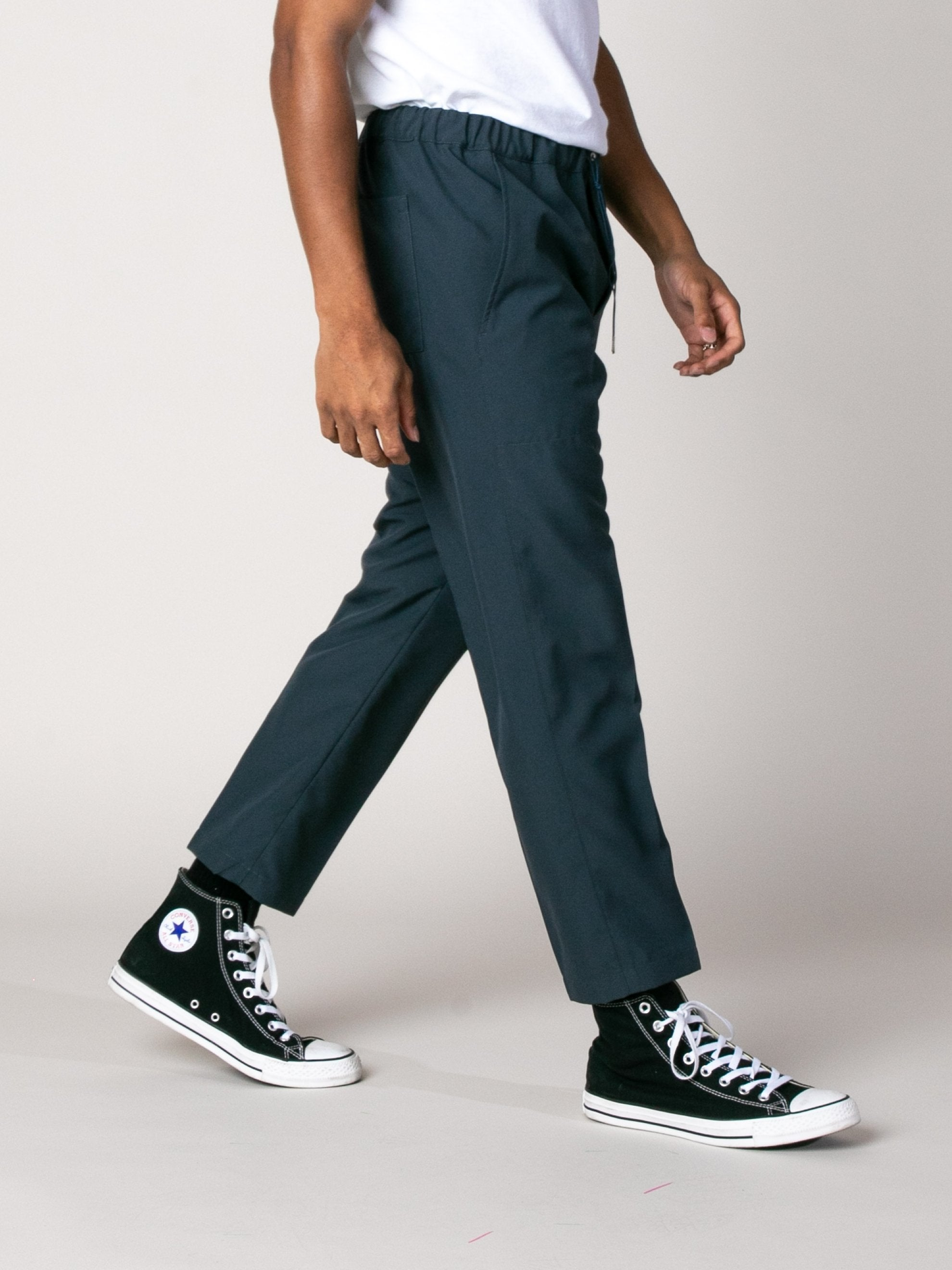 Dark Blue Shift Pant 6