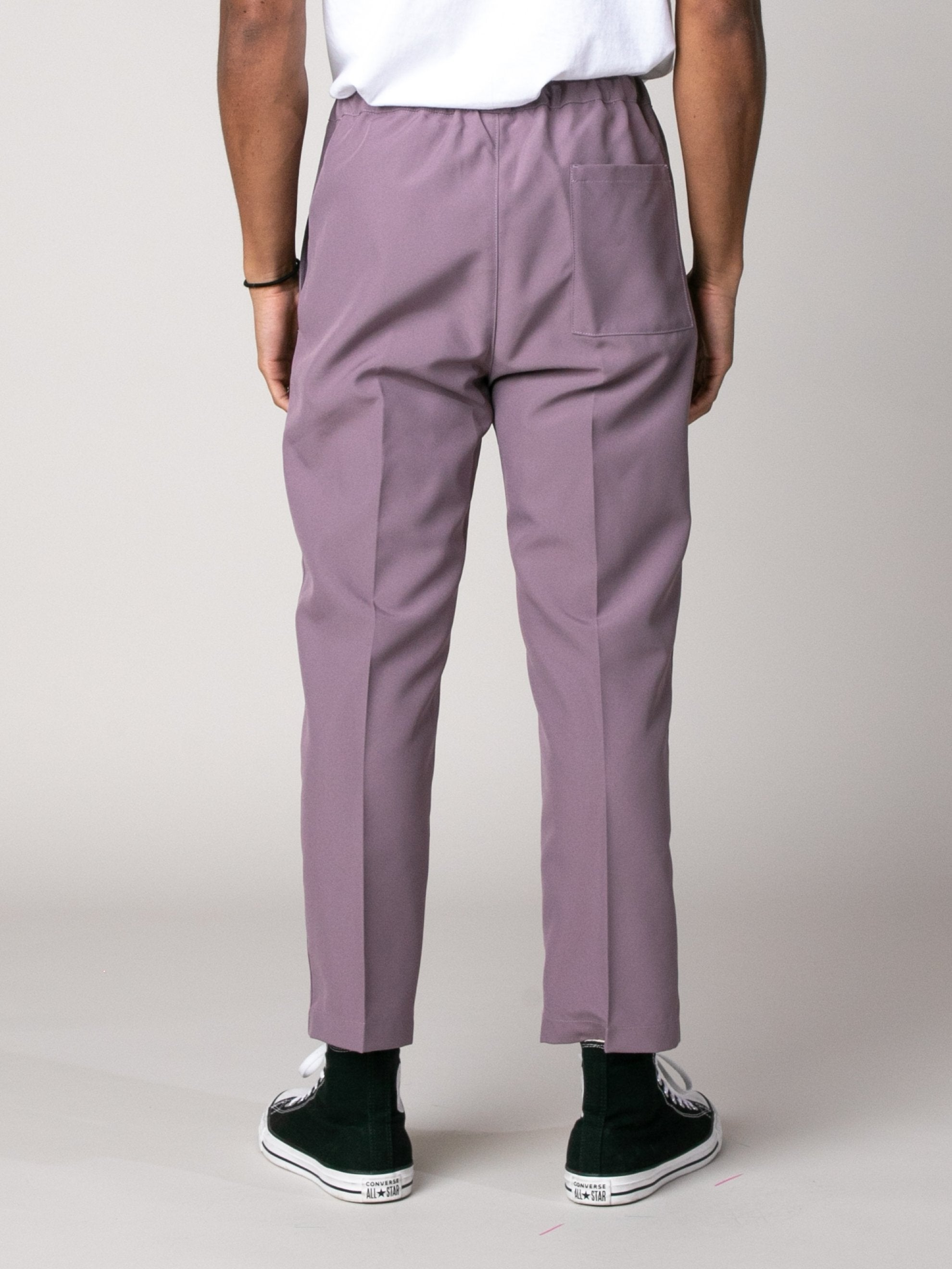Light/Pastel Red Drawcord Poly Pant 5