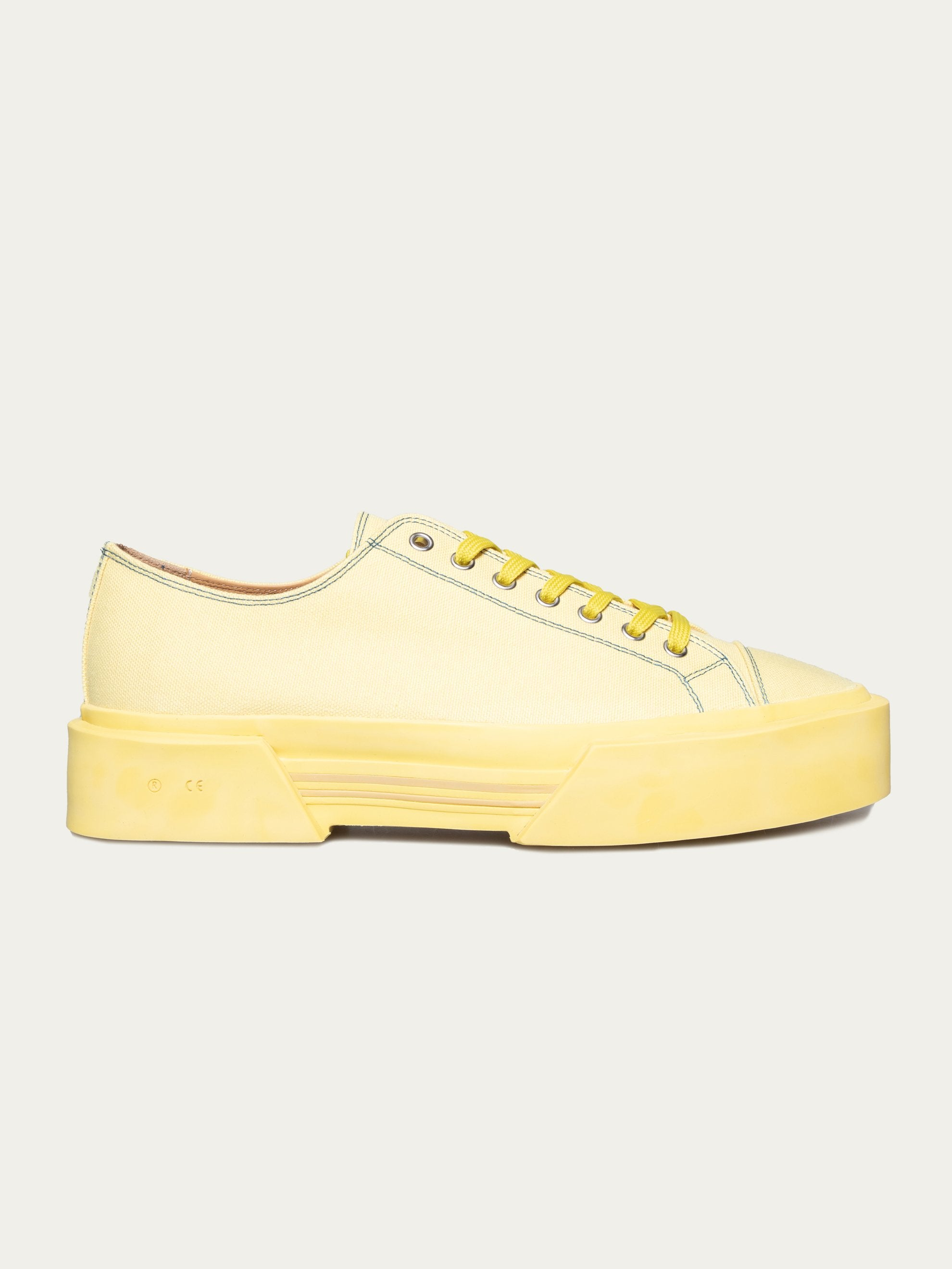 Pale Yellow Inflate Plimsoll 1