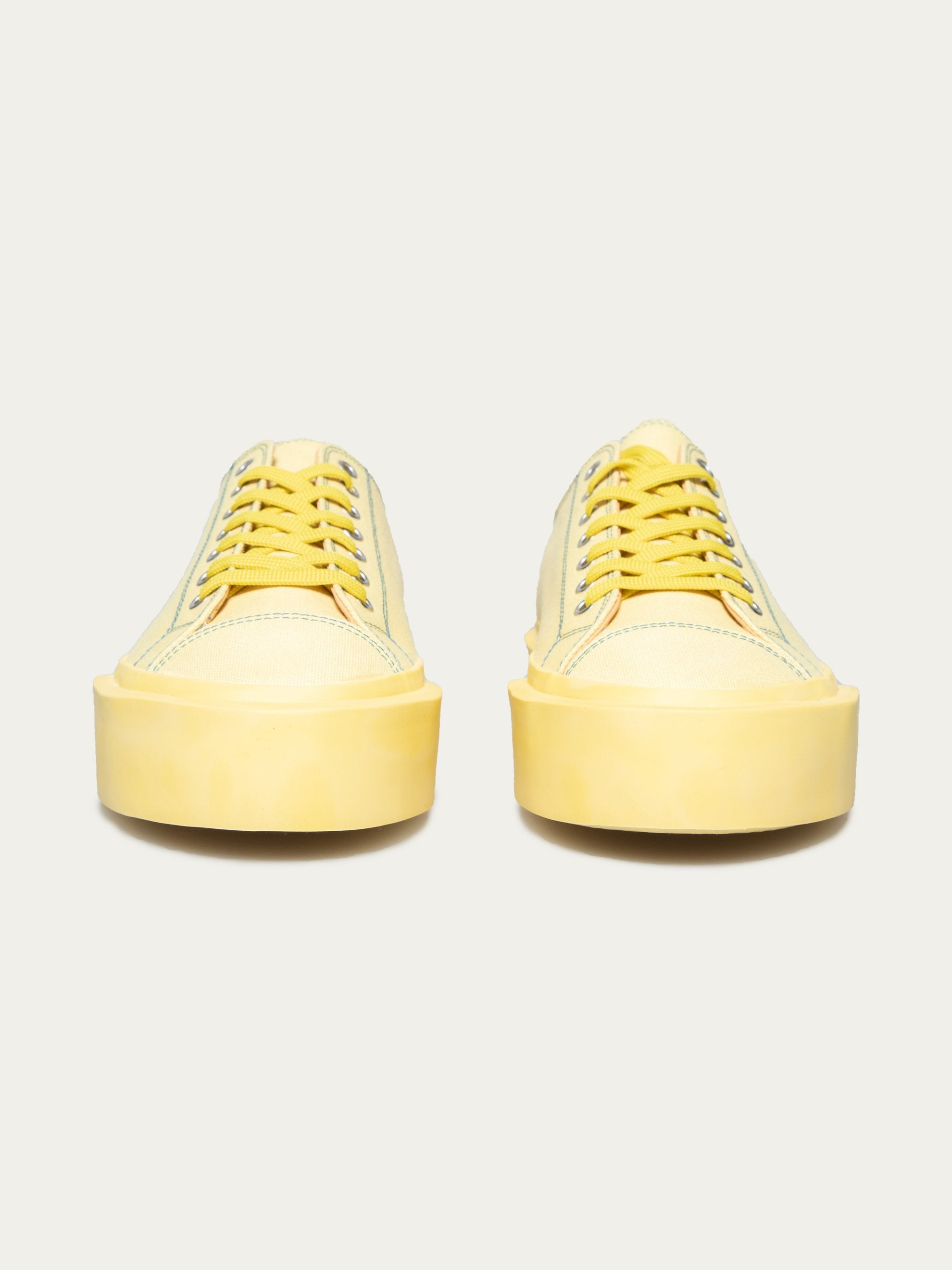 Pale Yellow Inflate Plimsoll 2
