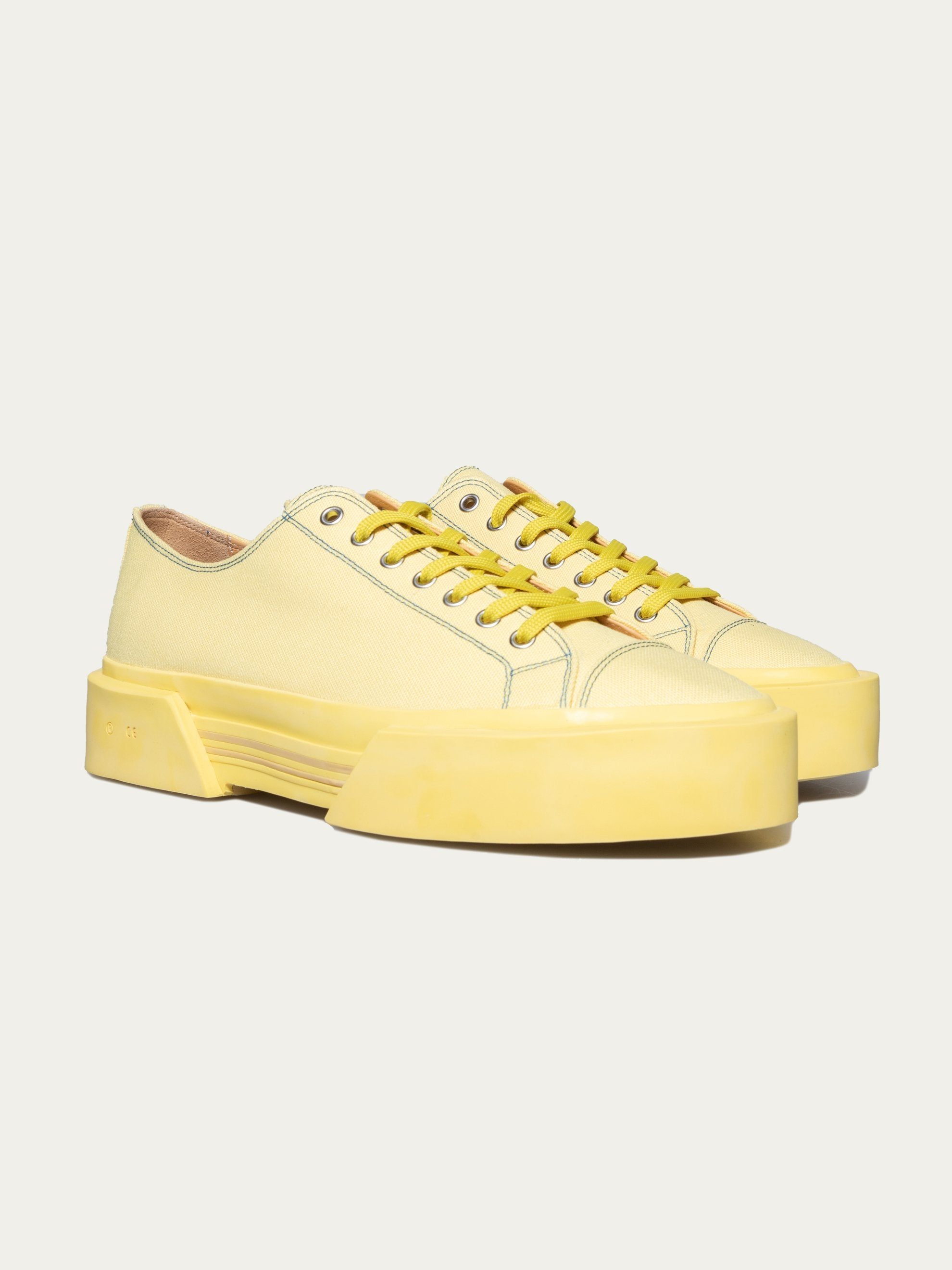 Pale Yellow Inflate Plimsoll 3