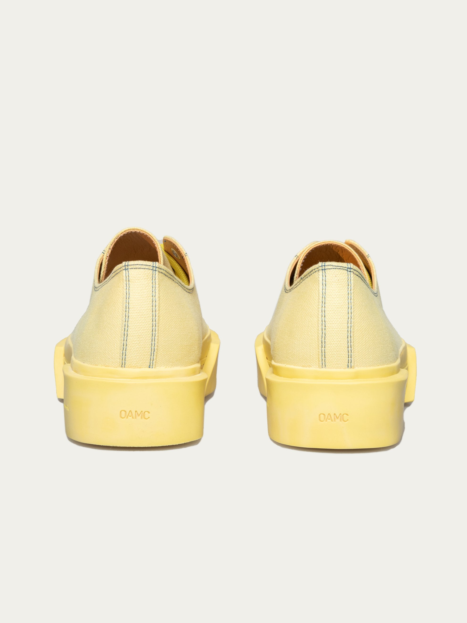 Pale Yellow Inflate Plimsoll 4