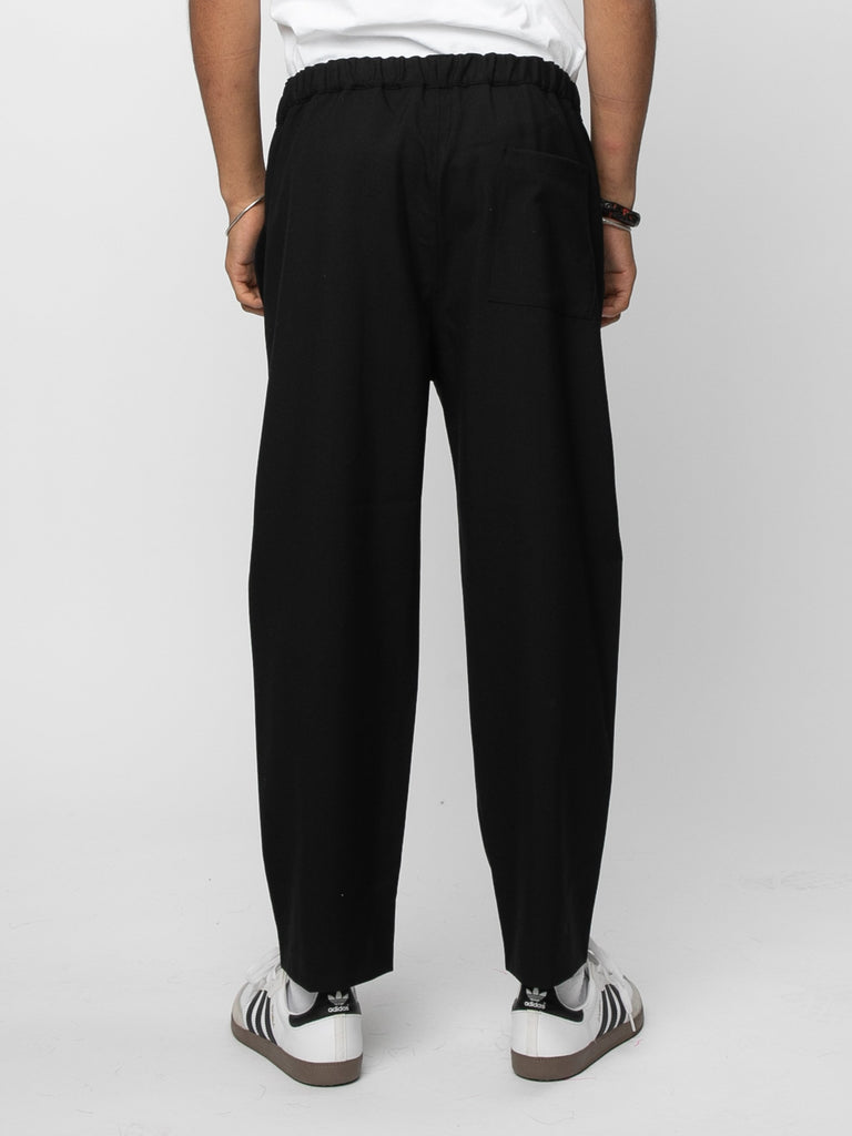 Black Drawcord Pants 514190627749965