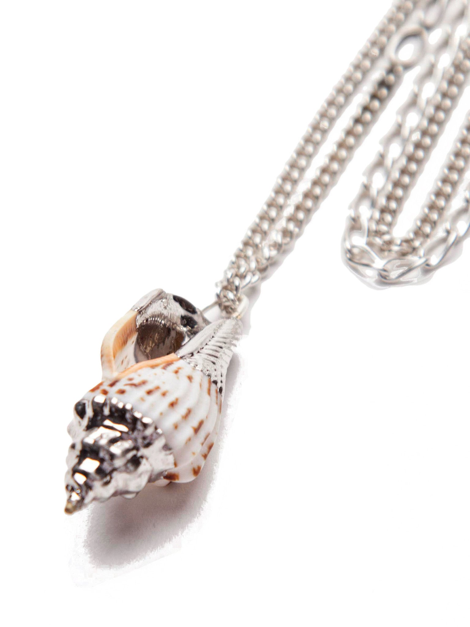 Silver Shell Necklace 4