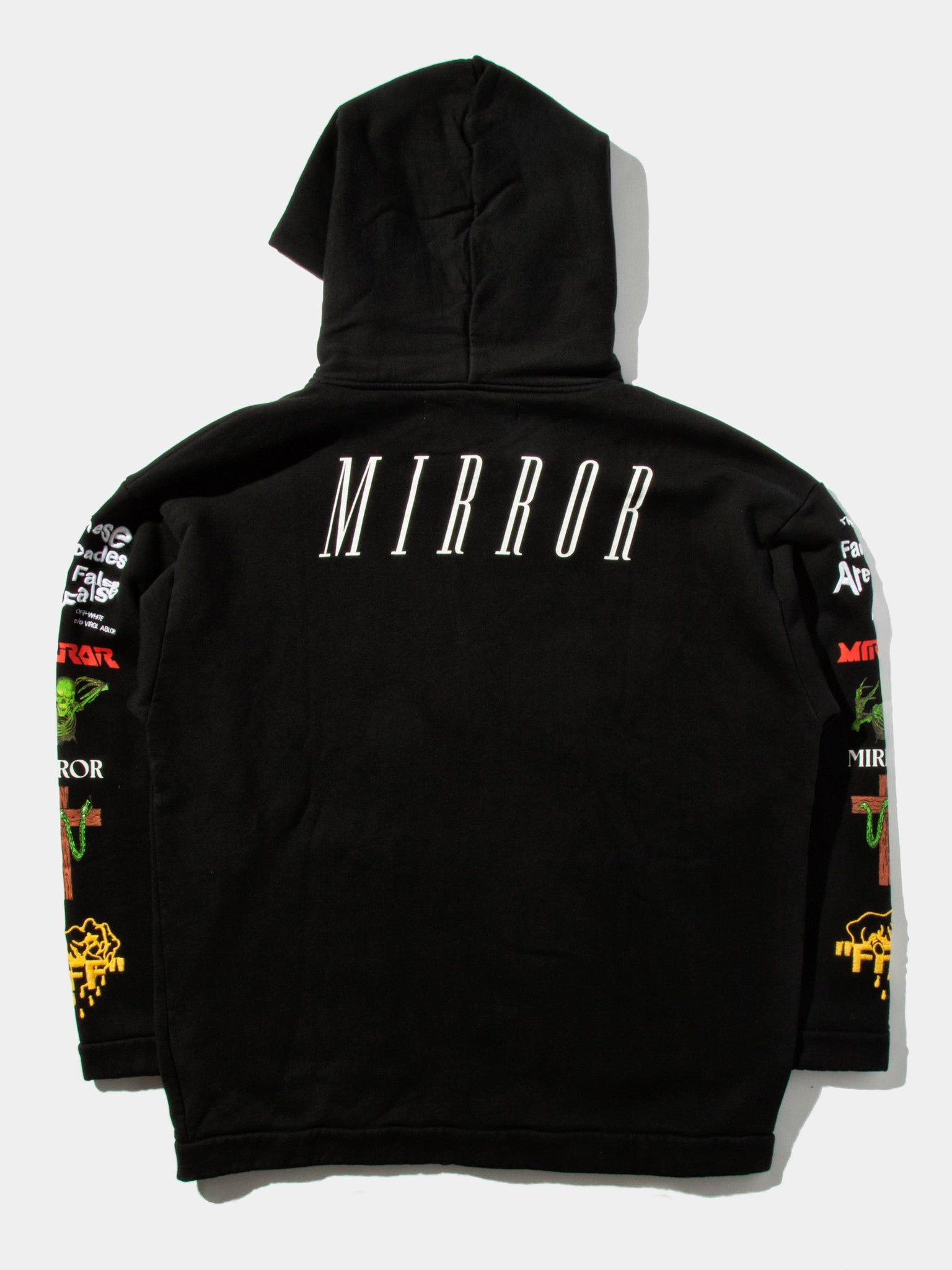 Black Mix Rock Hooded Sweatshirt 1
