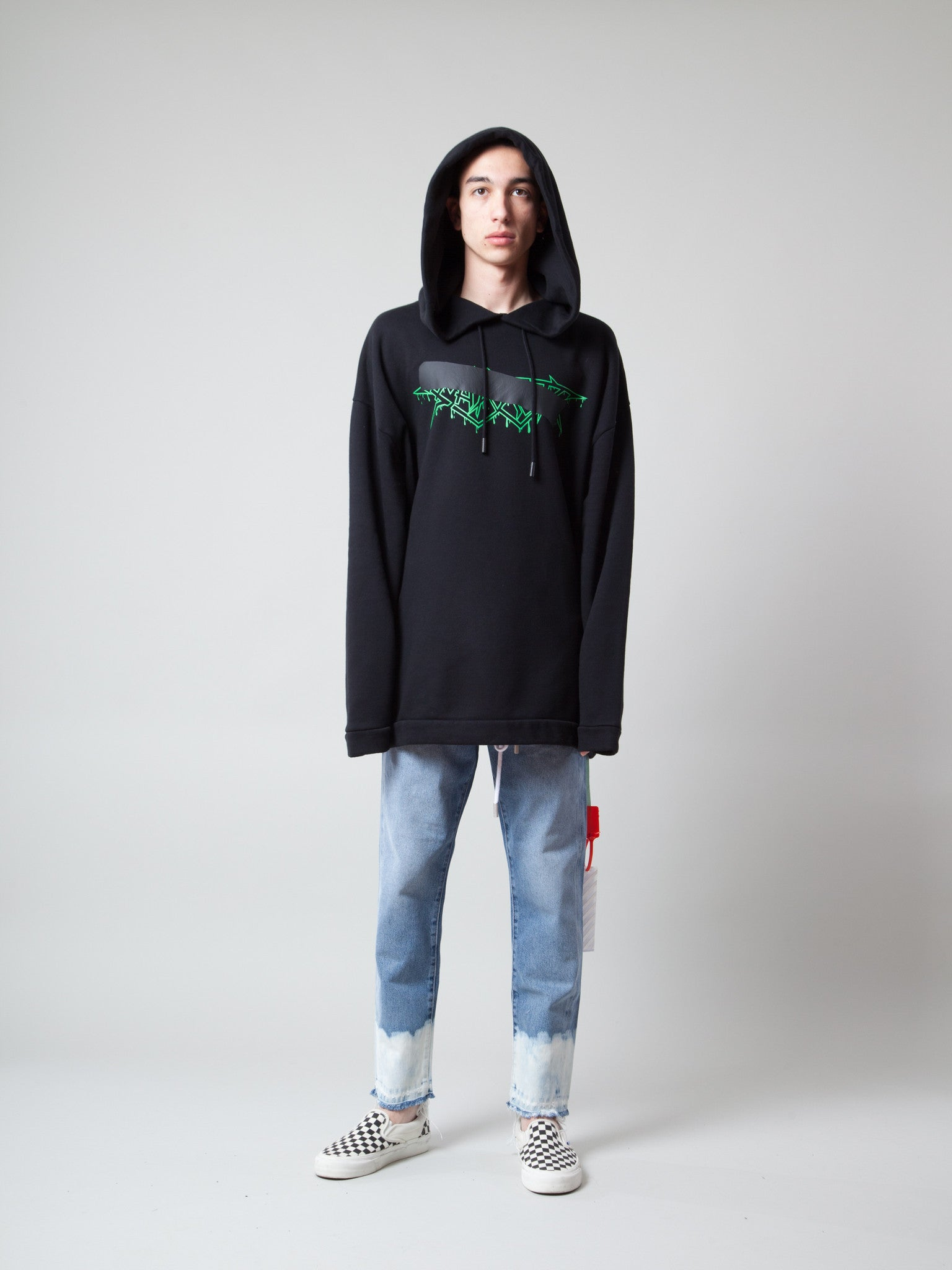 S Rock Mirror Hooded Sweatshirt 2