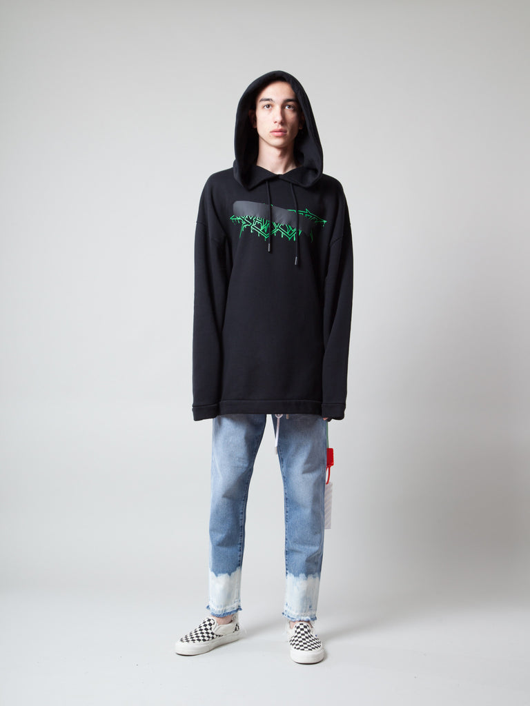 S Rock Mirror Hooded Sweatshirt 218905691209