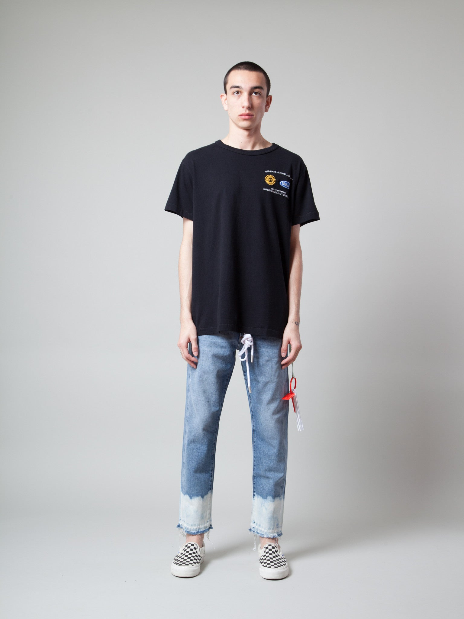Black/Multicolor Work T-Shirt 2