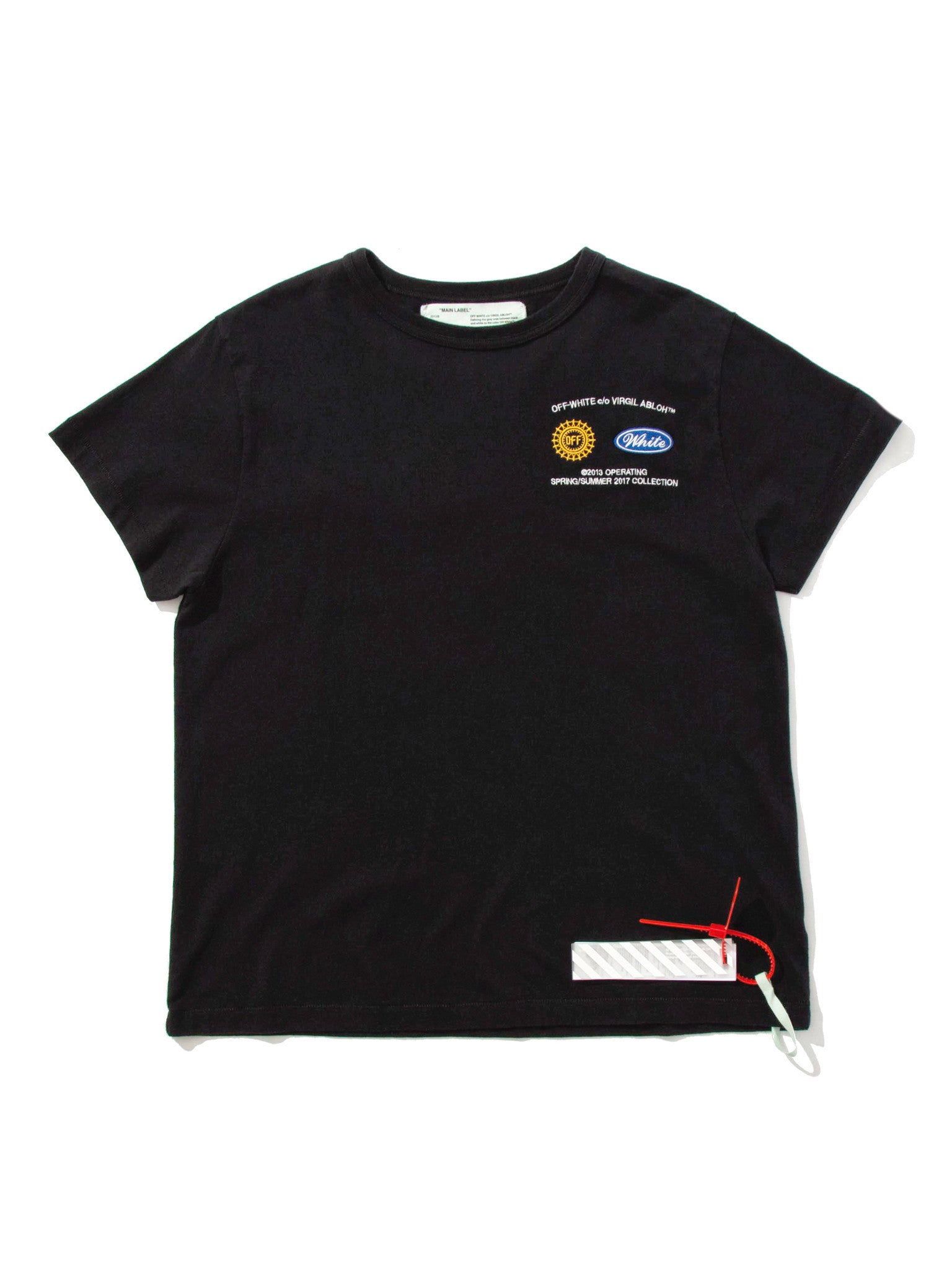 Black/Multicolor Work T-Shirt 4