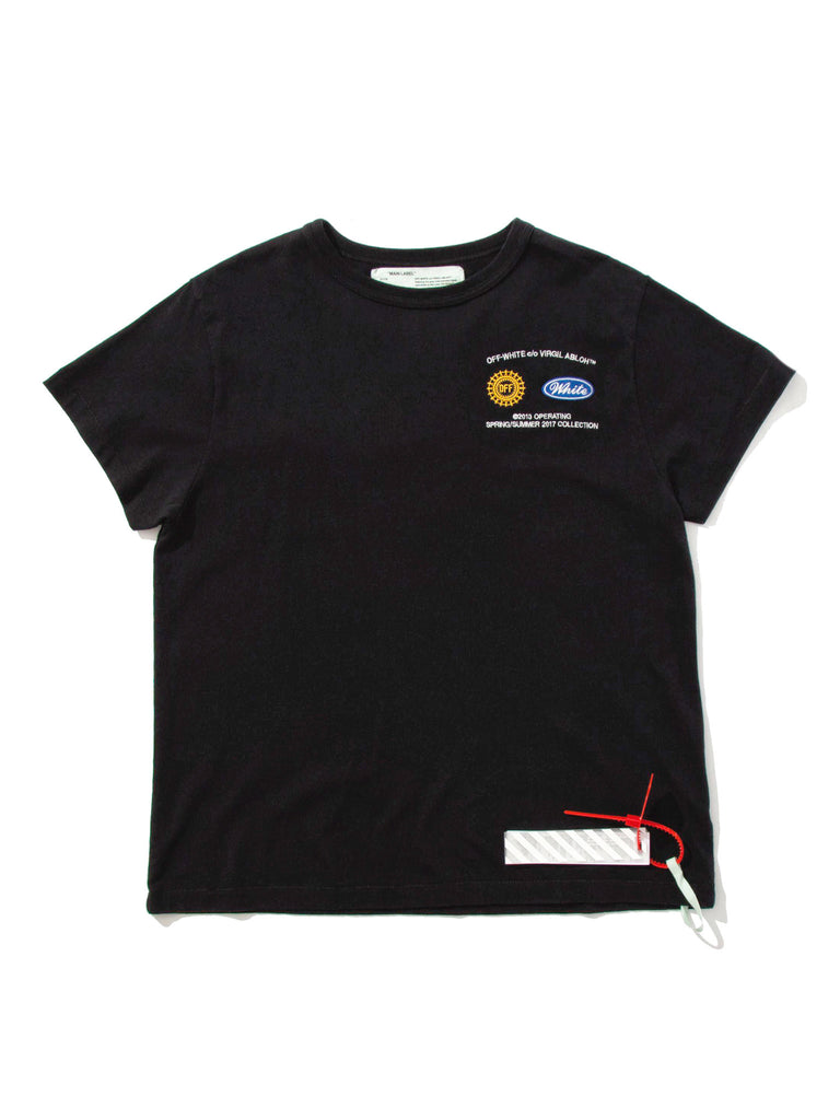 Black/Multicolor Work T-Shirt 418905670473