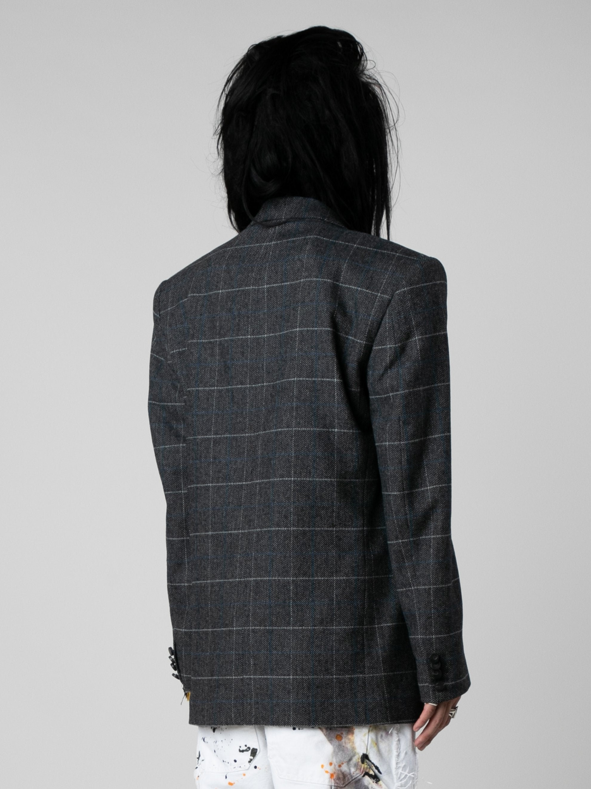 Med Grey Volume D.B. Jacket 5
